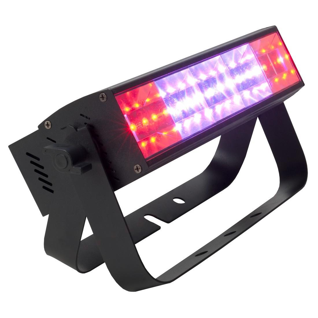 American DJ pixel pulzný bar farebný strobo