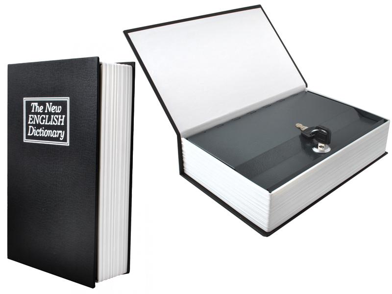 Item Safe Book Safe Money Metal + Key