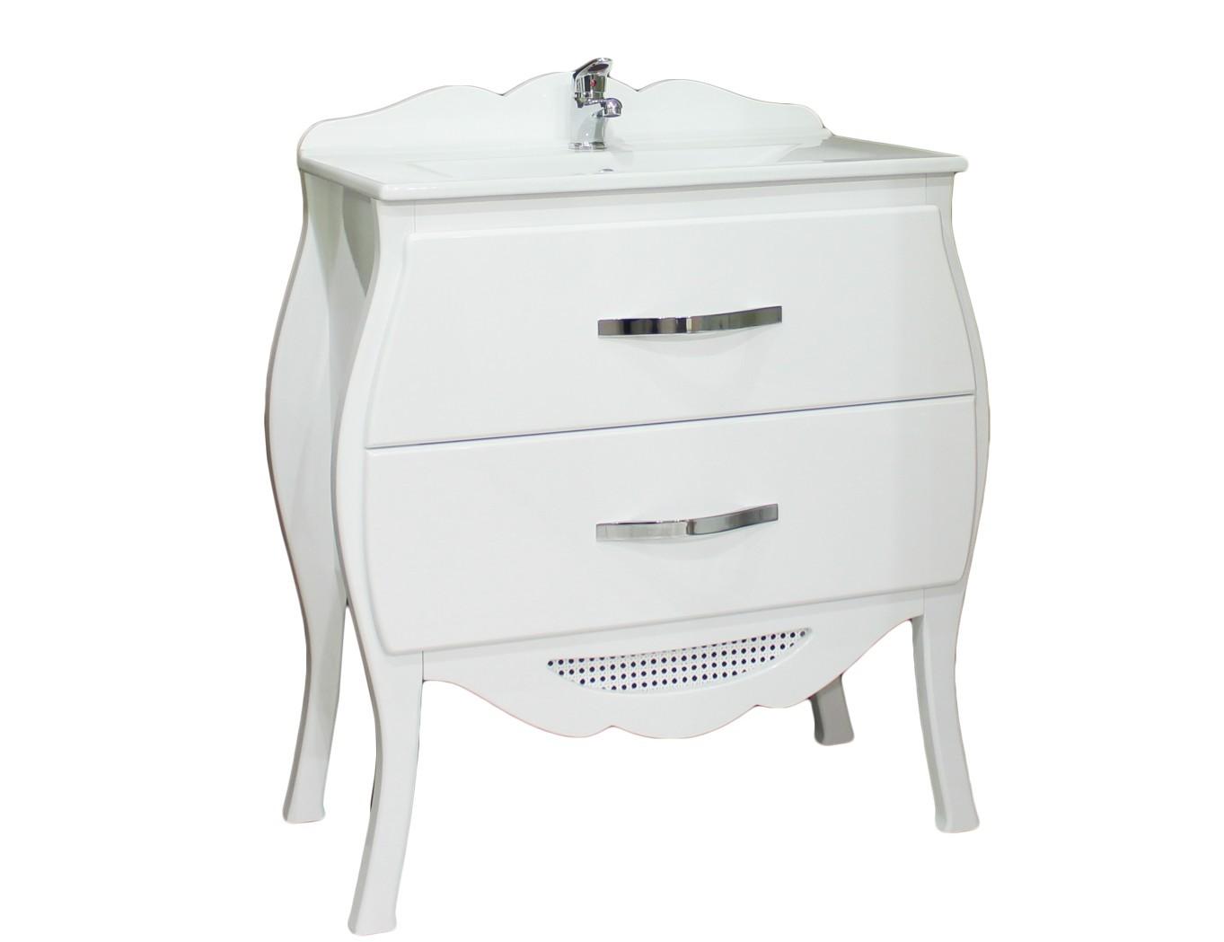 biela SKRINKA s umývadlom 62 60 vaňa RETRO