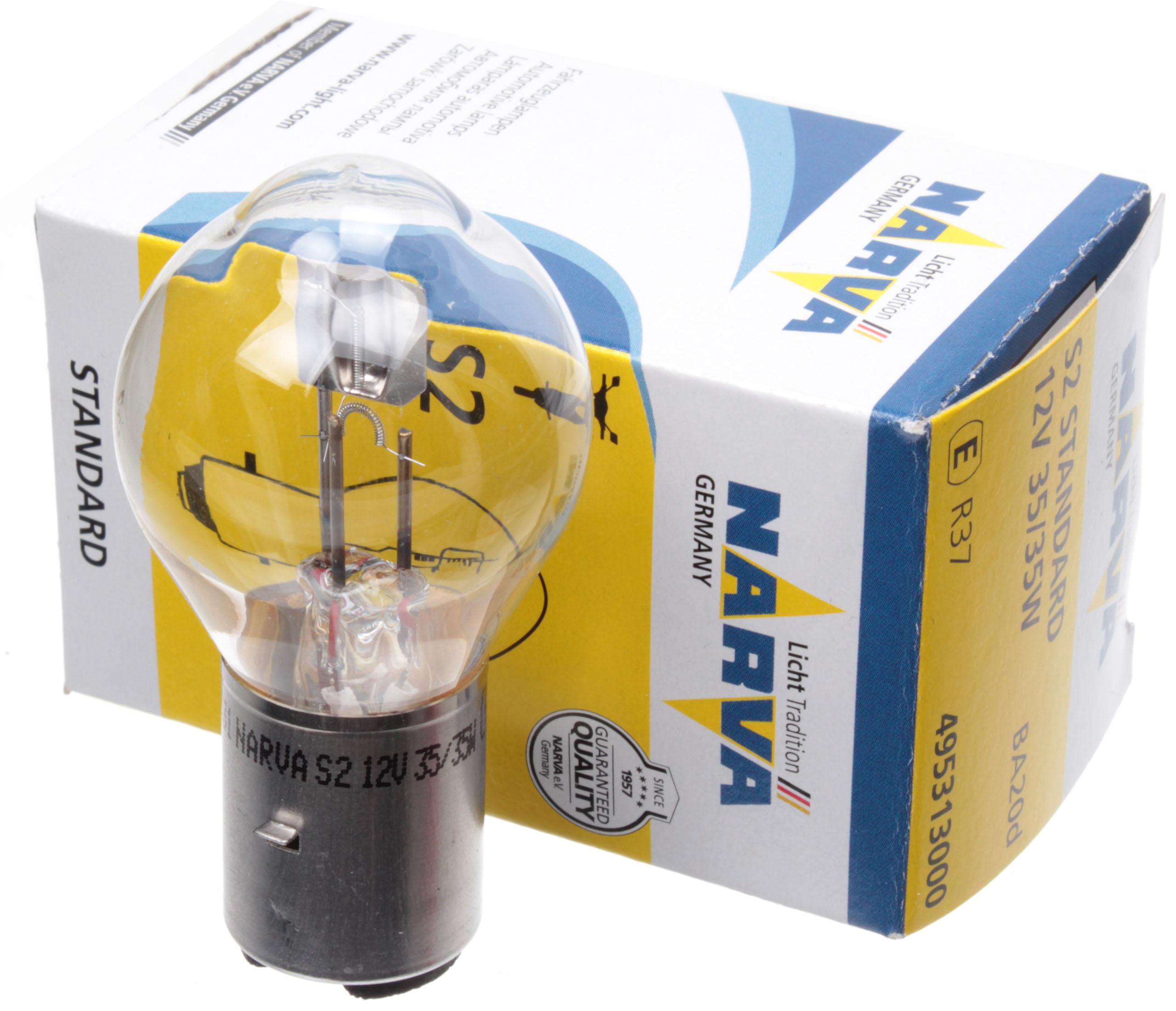 SIMSON MZ JAWA THE LAMP S2 12V 35/35W BA20D NARVA D