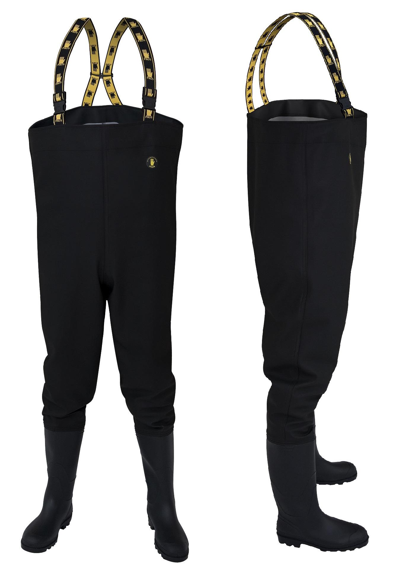 Topánky Bahniaky Rybárske KLADY SB01 Black 43