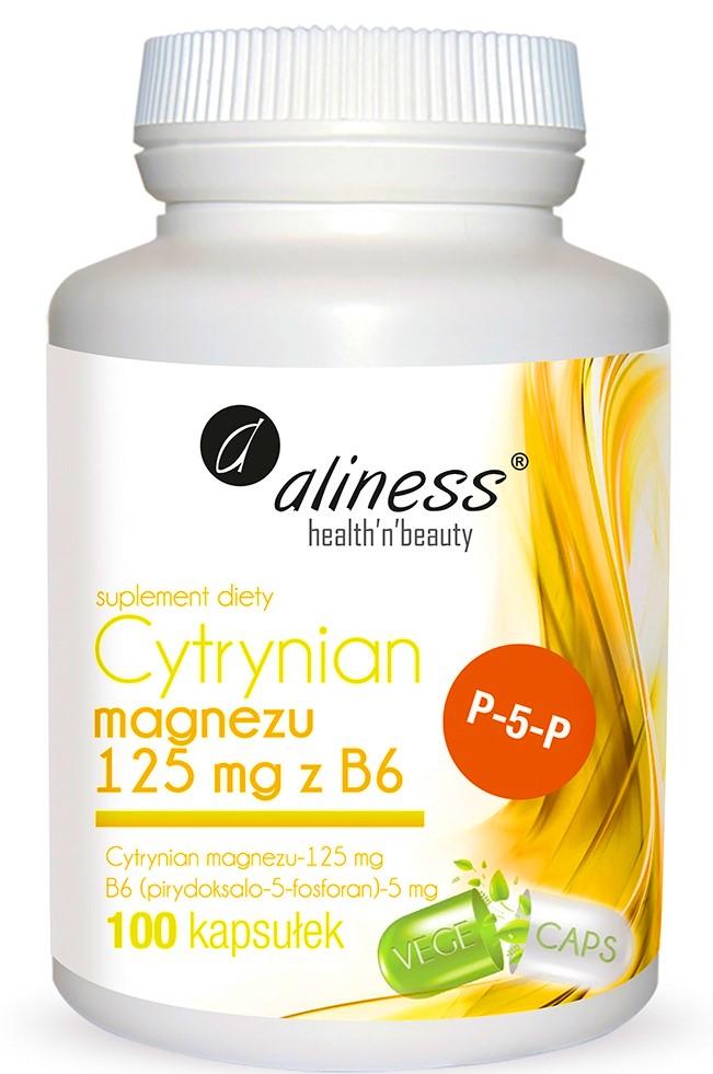 ALINESS MAGNEZ CYTRYNIAN WITAMINA z witamina B6