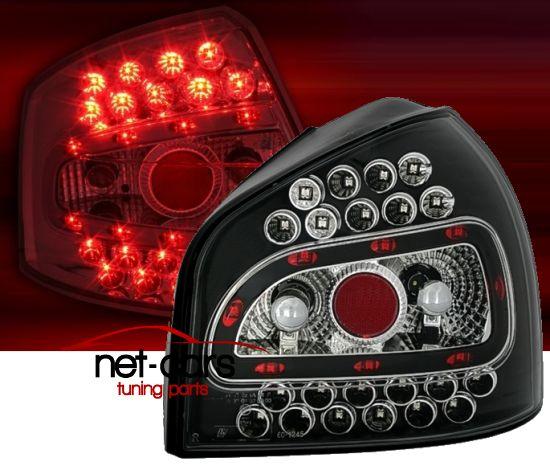 Lampy Tylne Audi A3 S3 8l Led Diodowe Czarne 6832405524