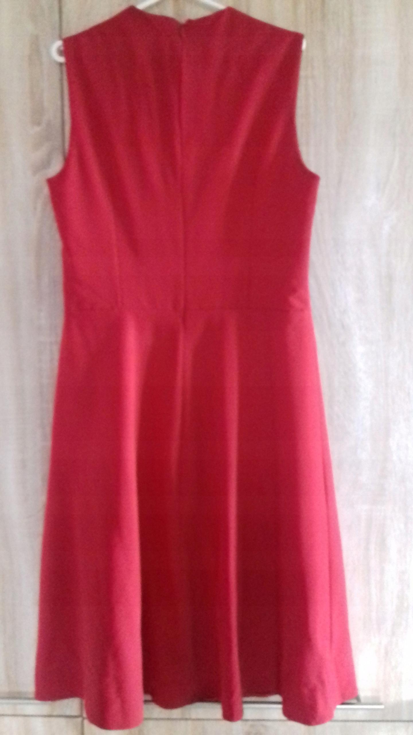 09e1a91514 Sukienka czerwona- litera A -rozmiar 42 - 7521226226 - oficjalne ...