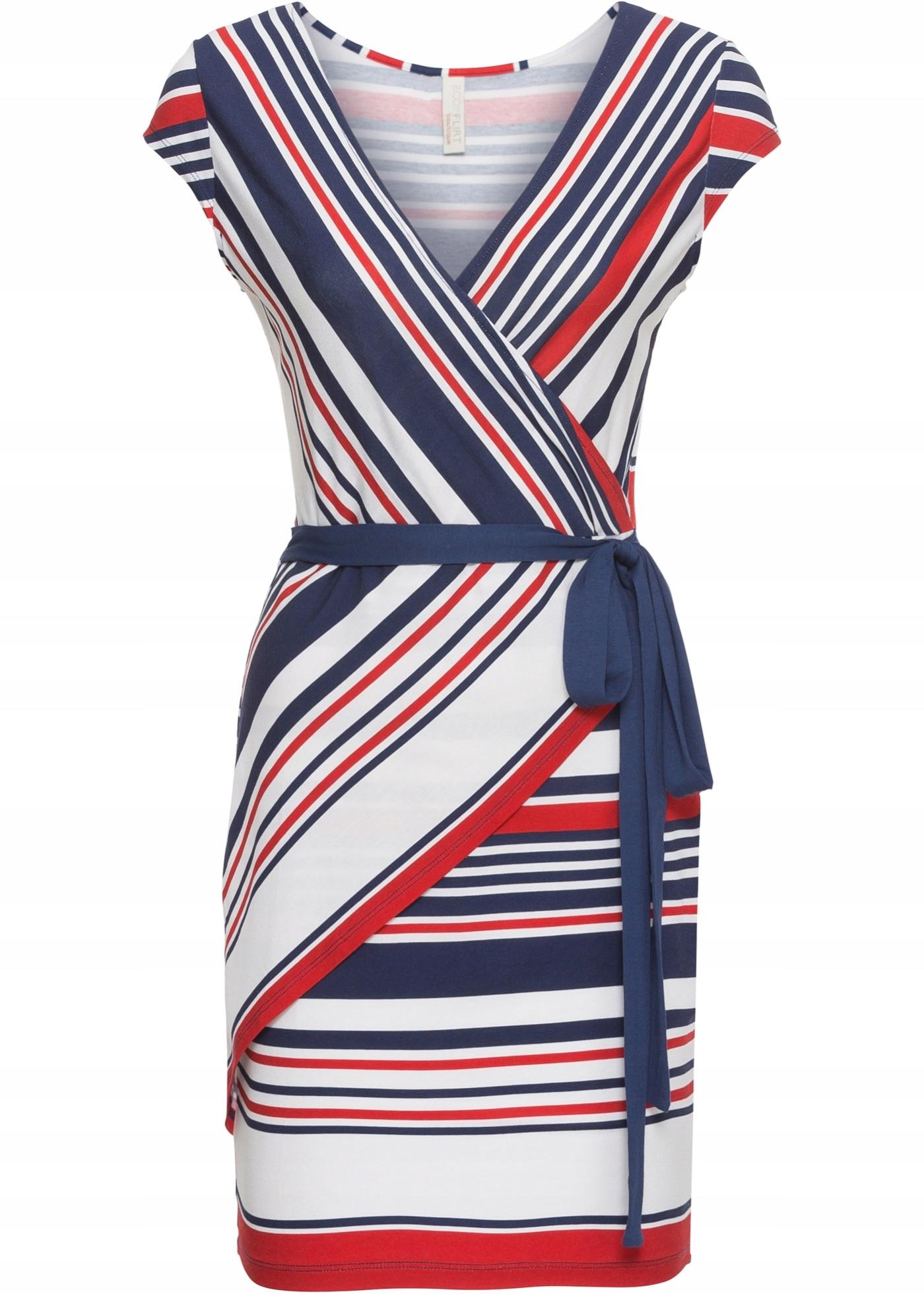 33d02fee3d M422 BPC Sukienka w paski r.48 50 - 7640268866 - oficjalne archiwum ...
