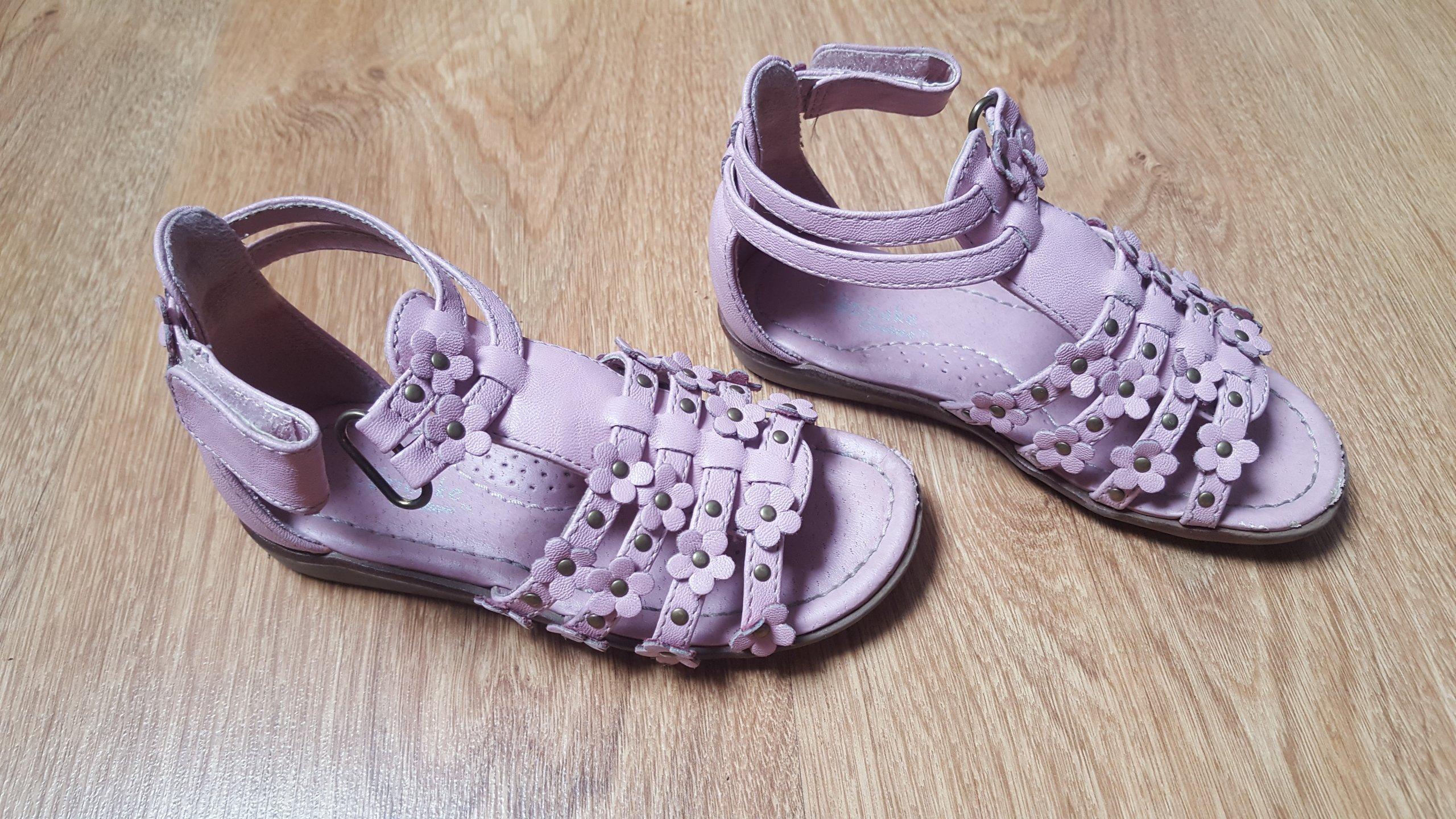 f764a7b226c8b0 Sandały sandałki różowe Cupcake r.26 - 7342550482 - oficjalne ...