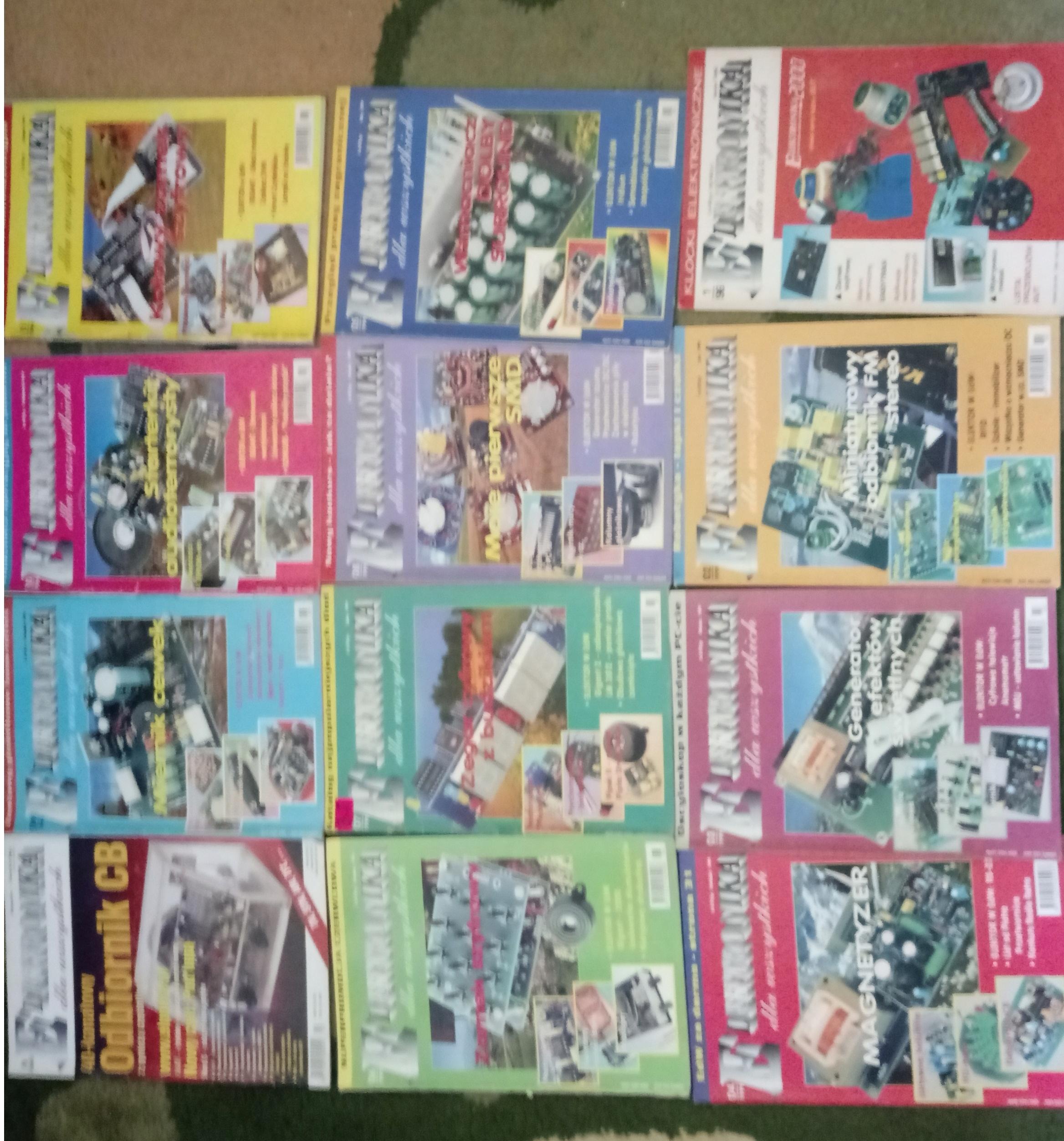 Miesięcznik Elektronika dla Wszystkich 12 numerów3