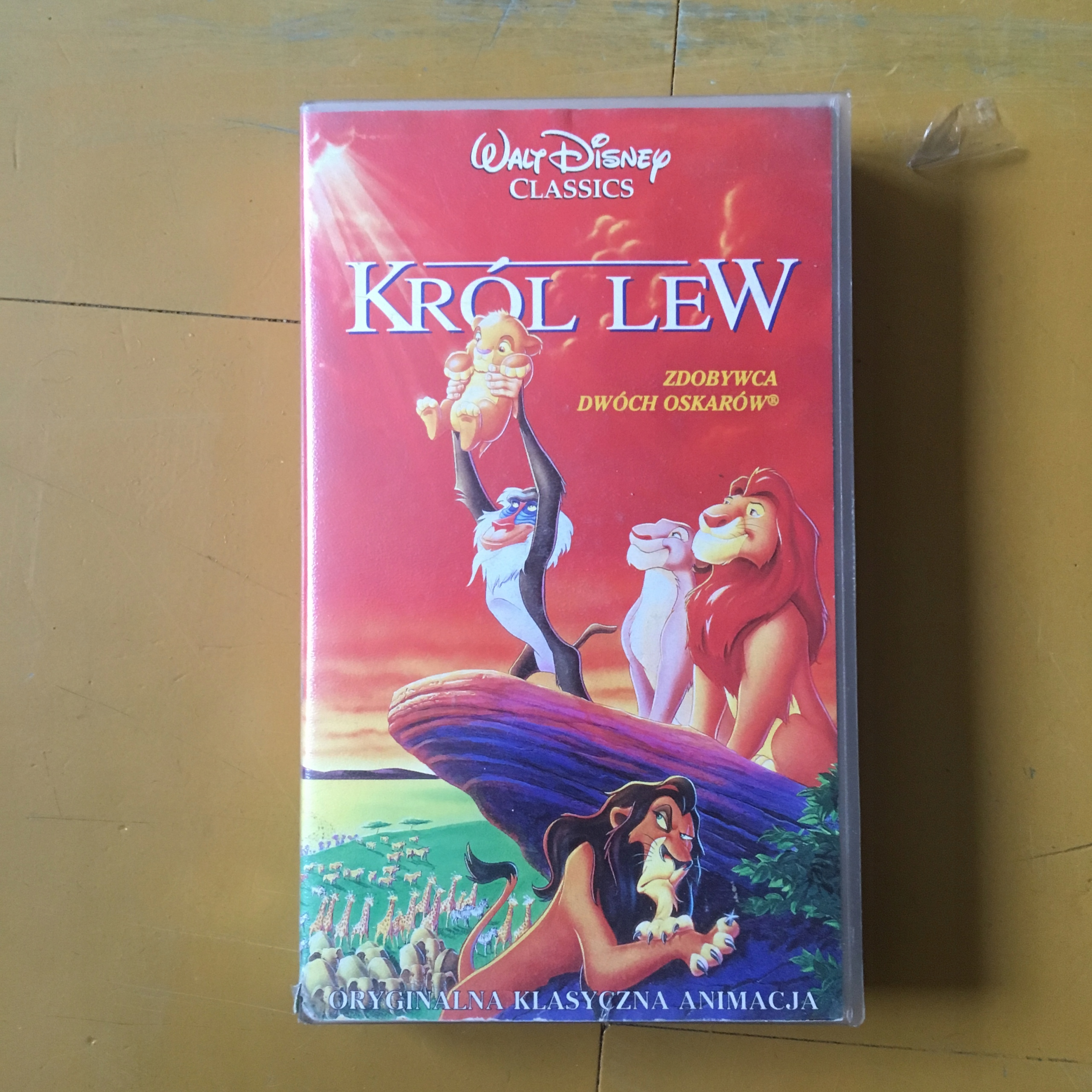 VHS - KRÓL LEW - BCM $$$