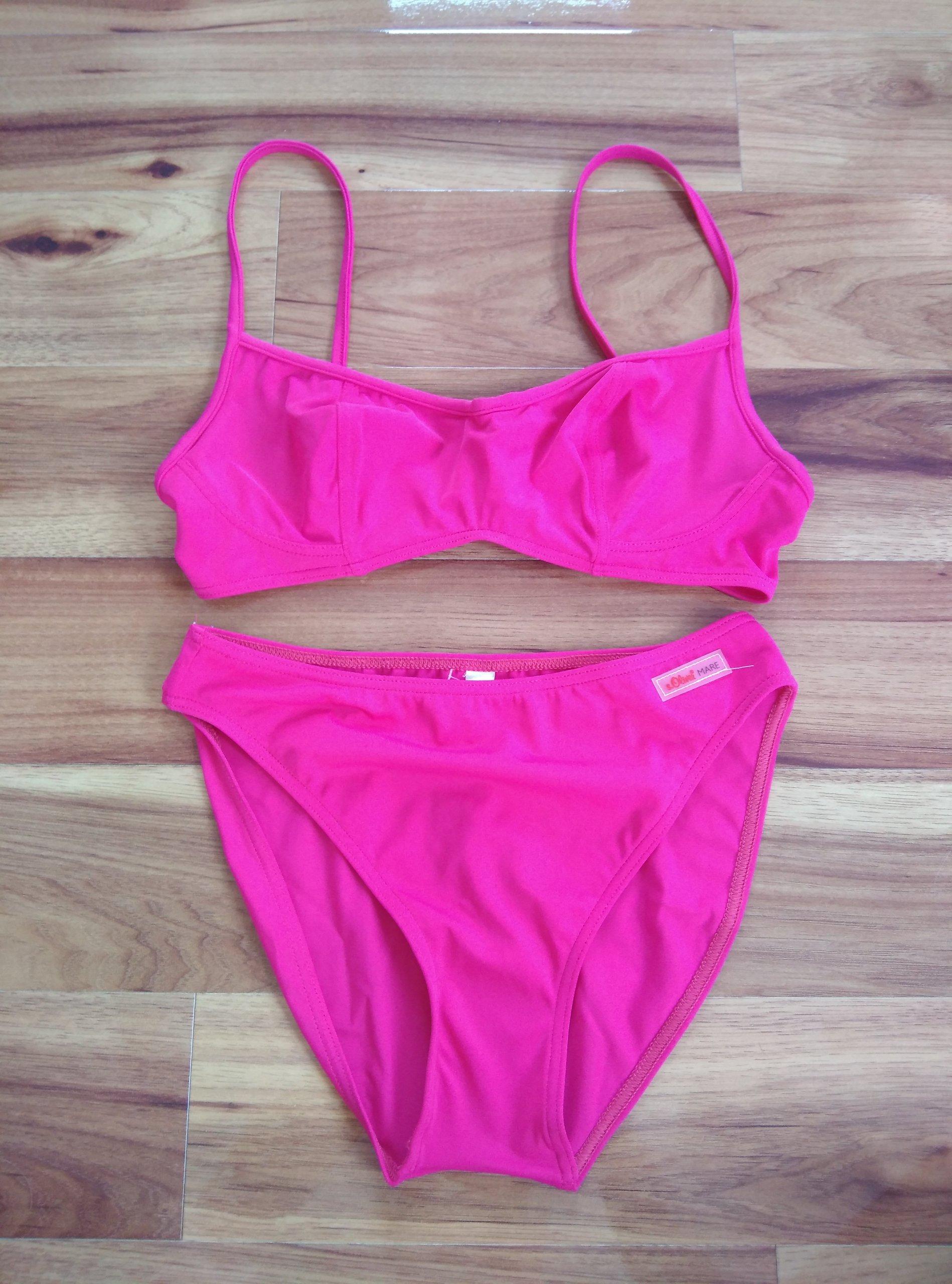 534e796255afdf s.OLIVER różowe bikini R 40 (80 C) - 7402389548 - oficjalne archiwum ...