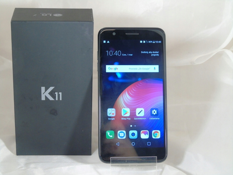 TELEFON LG K11 JAK NOWY/GWARANCJA