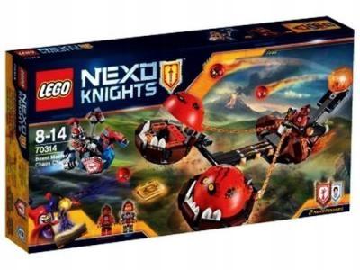 Lego Nexo Knights Rydwan Władcy Bestii Promocja 7394574265