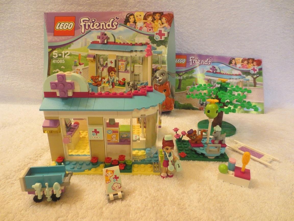 Lego Friends 41085 Przychodnia Weterynarz Dodatki 7623377228