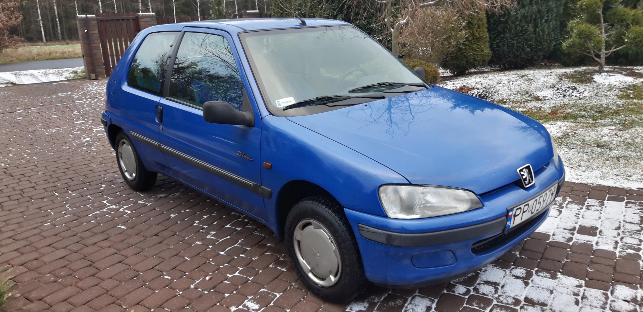 Peugeot 106 Salon Polska 20 lat w jednym domu