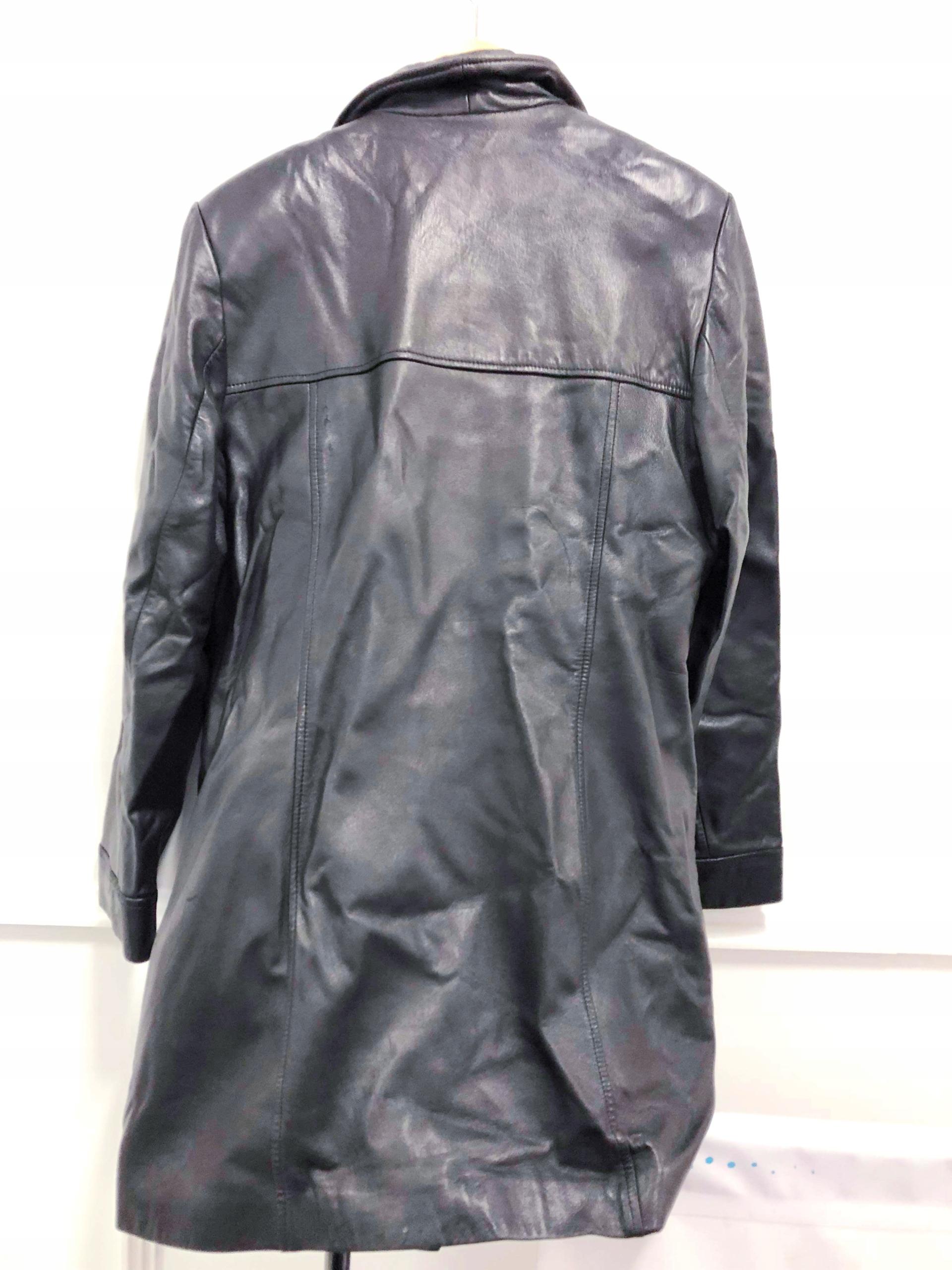 5eb1410d8b9ba płaszcz czarny skóra 42 44 Danier Canada długi - 7653067494 ...