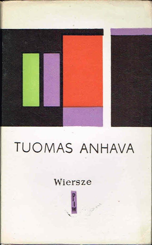 Toumas Anhava Wiersze Poezja Fińska 7150652935