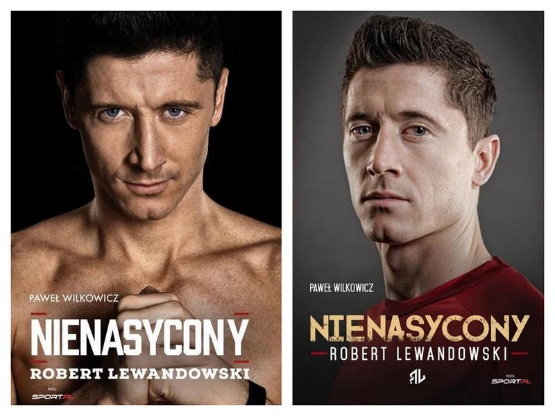 9046e21c5 Zestaw Robert Lewandowski Nienasycony biografia - 7391231974 ...