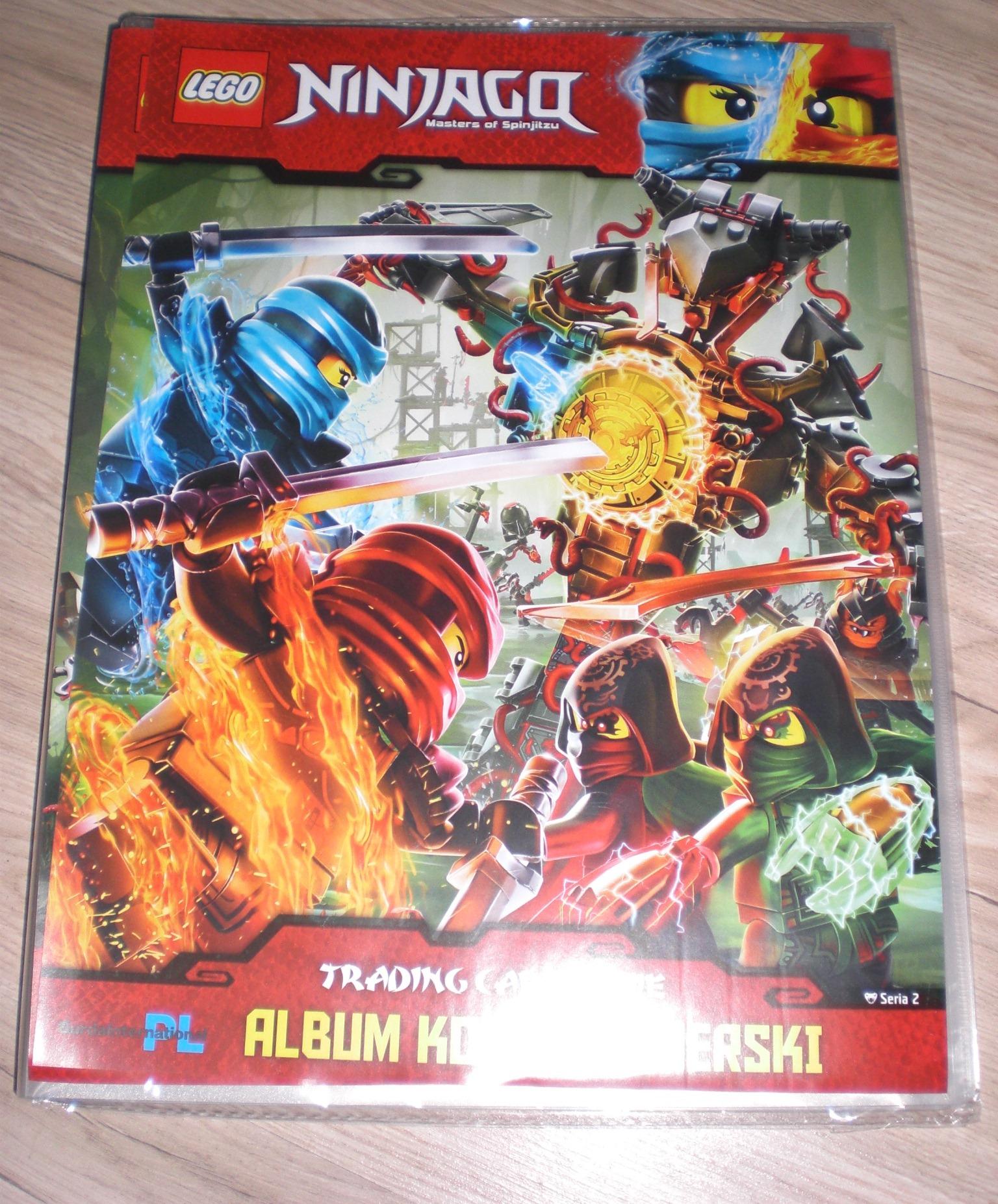 Album Klaser Na Karty Lego Ninjago Seria 2 Tcg 7009064476