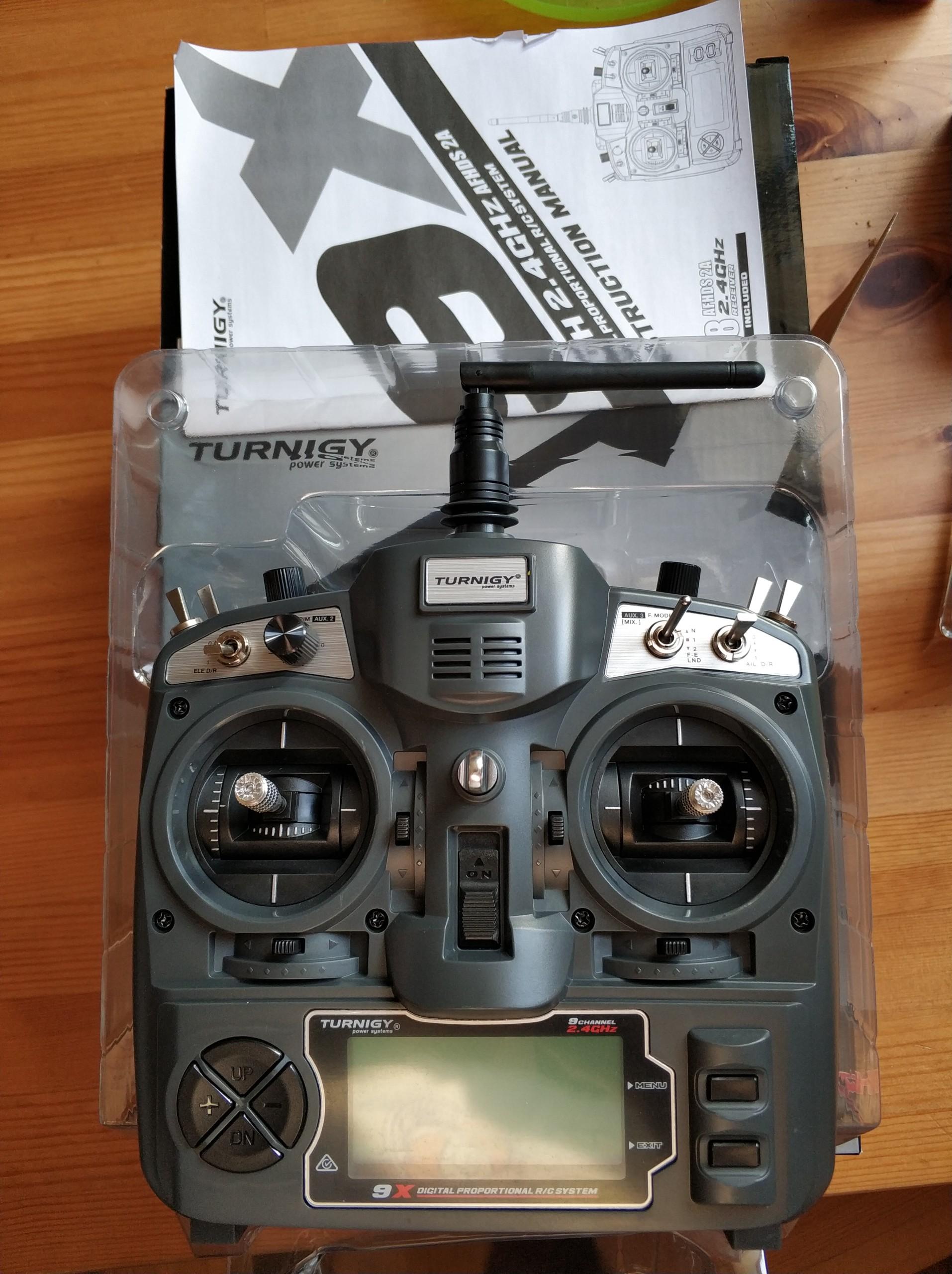 Aparatura Turnigy 9X AFHDS 2A iA8 MODE 2
