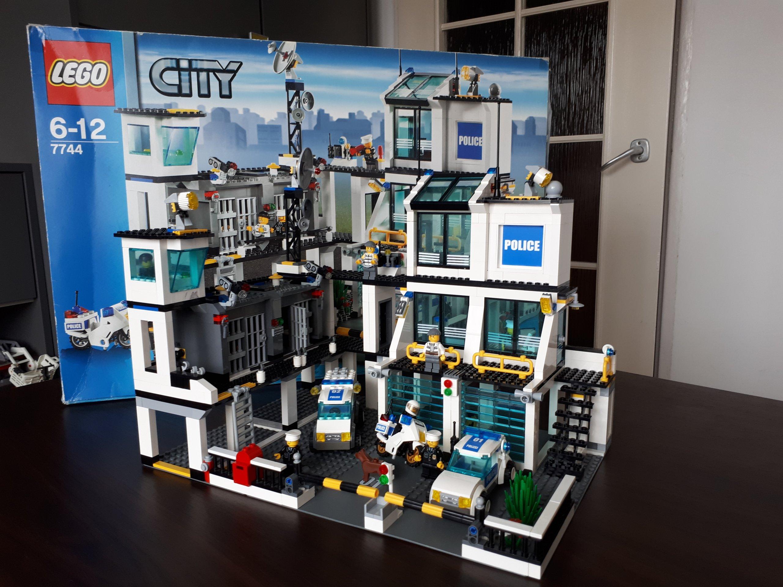 Lego Komisariat Policji 7744 Kompletne 100 7309688618 Oficjalne