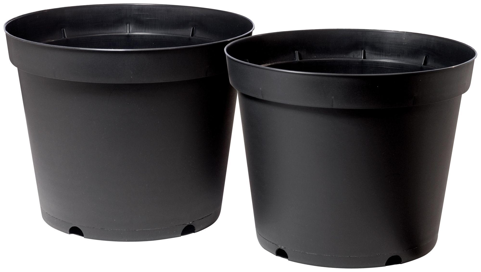 Doniczka Ogrodowa Plastikowa Verve 283cm 10l 2szt