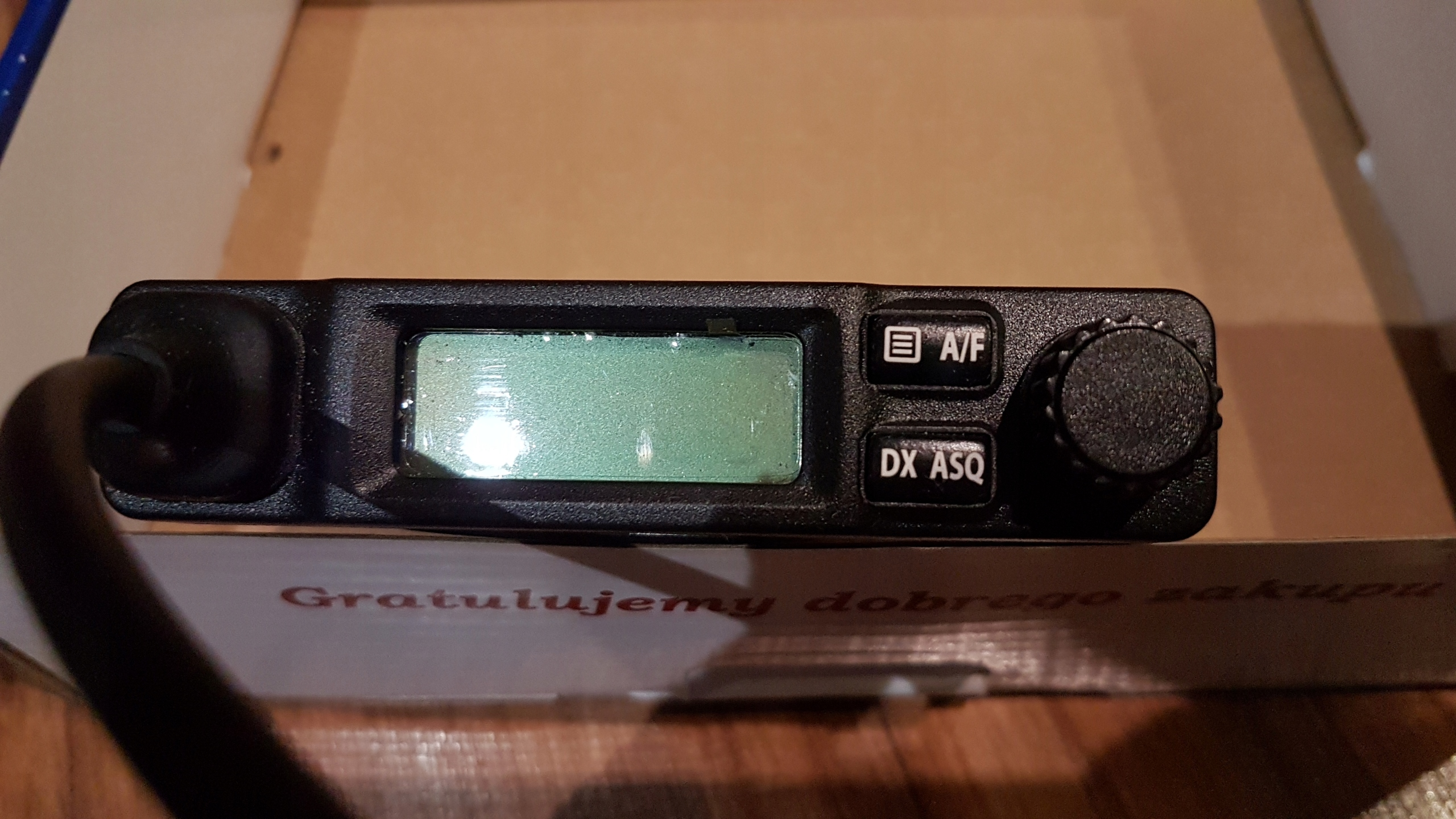 YOSAN Micro CB Radio + wtyk do gniazda zapalniczki