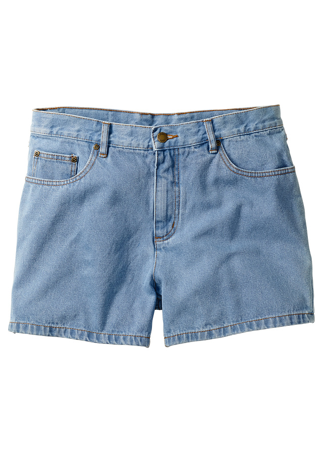 f198a11de Szorty dżinsowe niebieski 54 L 974465 bonprix - 7044477490 - oficjalne  archiwum allegro