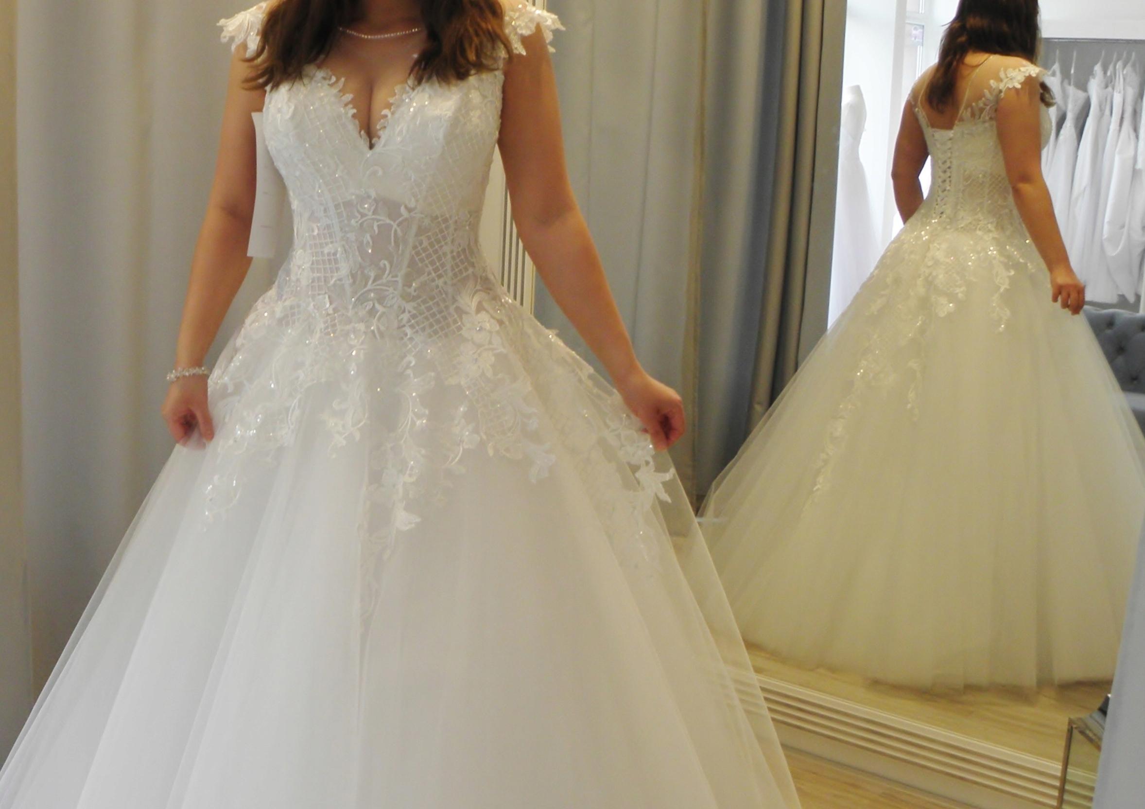 Suknia ślubna Agora 18 11 Gorset R L Bolerko 7478727035