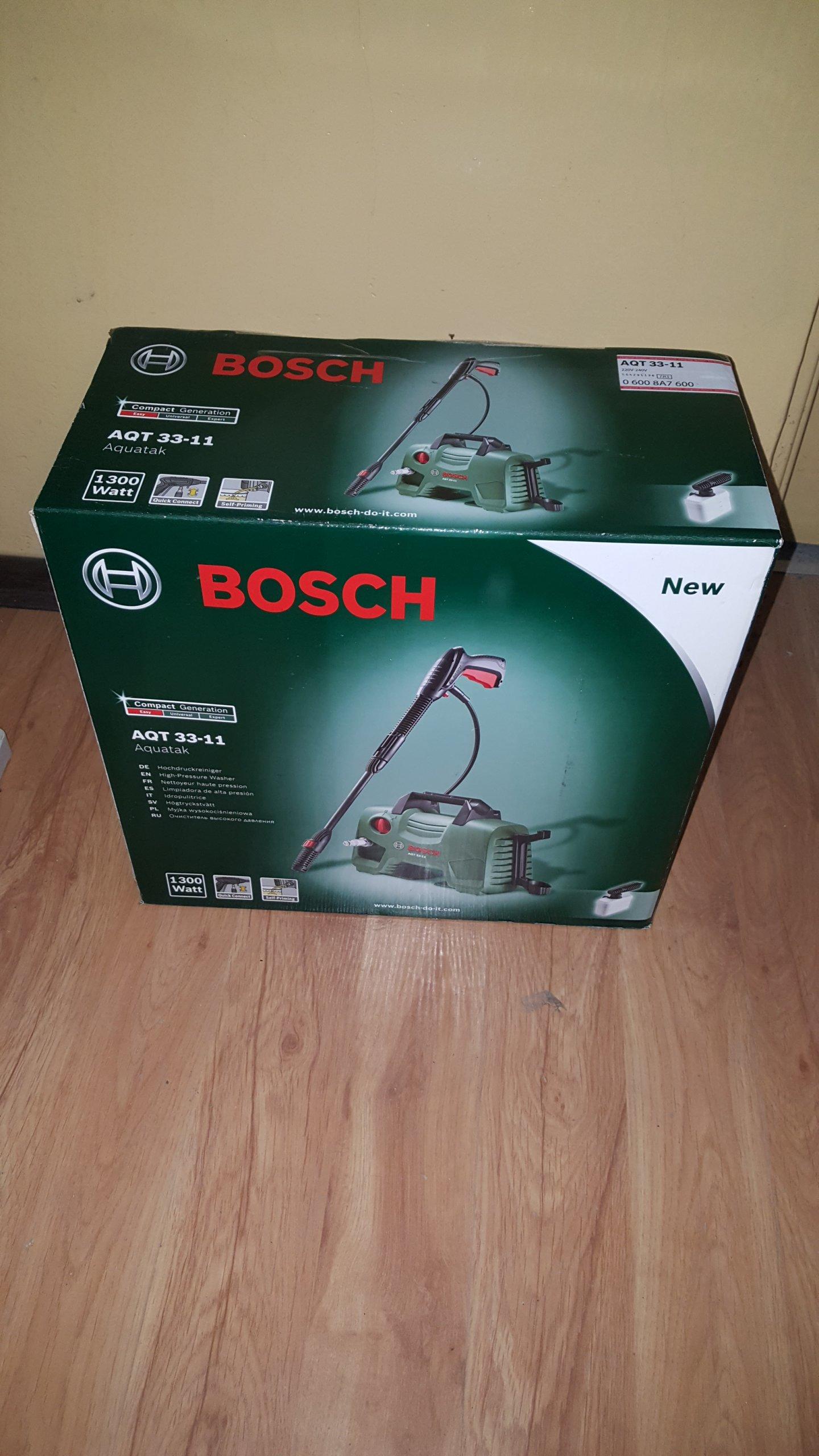 Bosch Myjka Cinieniowa Aqt 33 11 1300 Wat 7302559886 Oficjalne High Pressure Washer Aquatak Aqt33