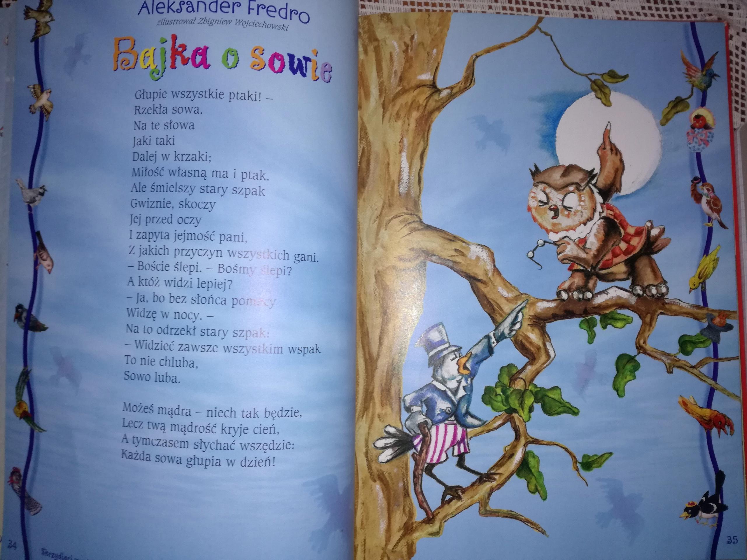 Książka Wiersze Da Dzieci Książeczka Wierszyki