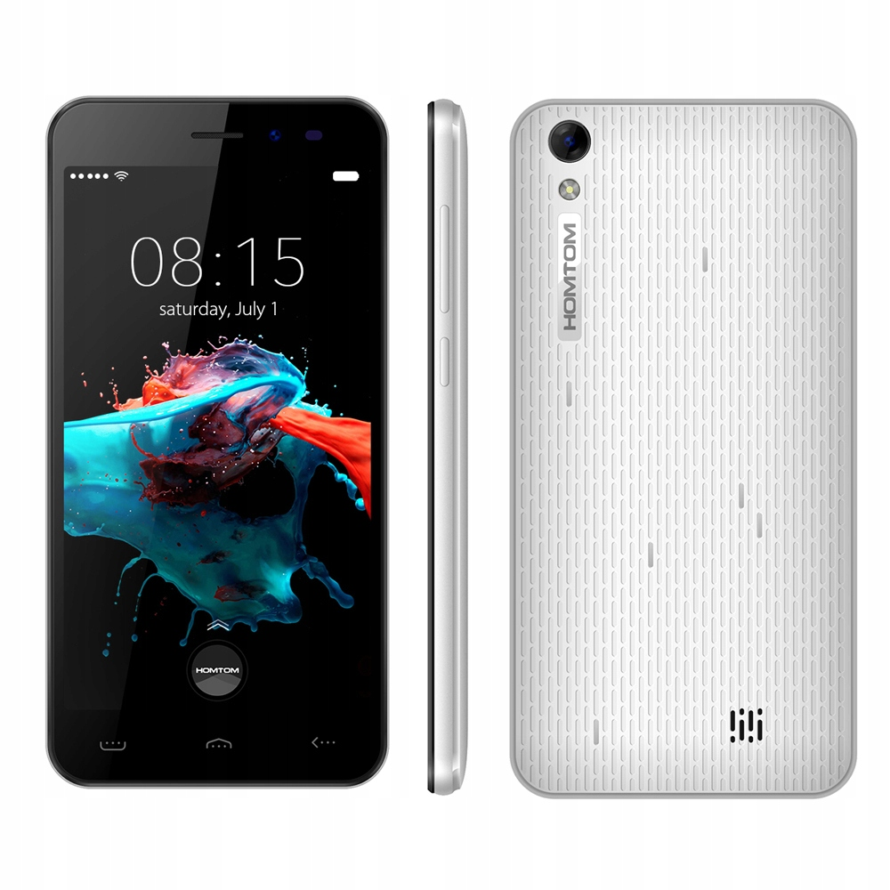 SMARFTON HOMTOM HT16 BIAŁY ANDROID 6.0