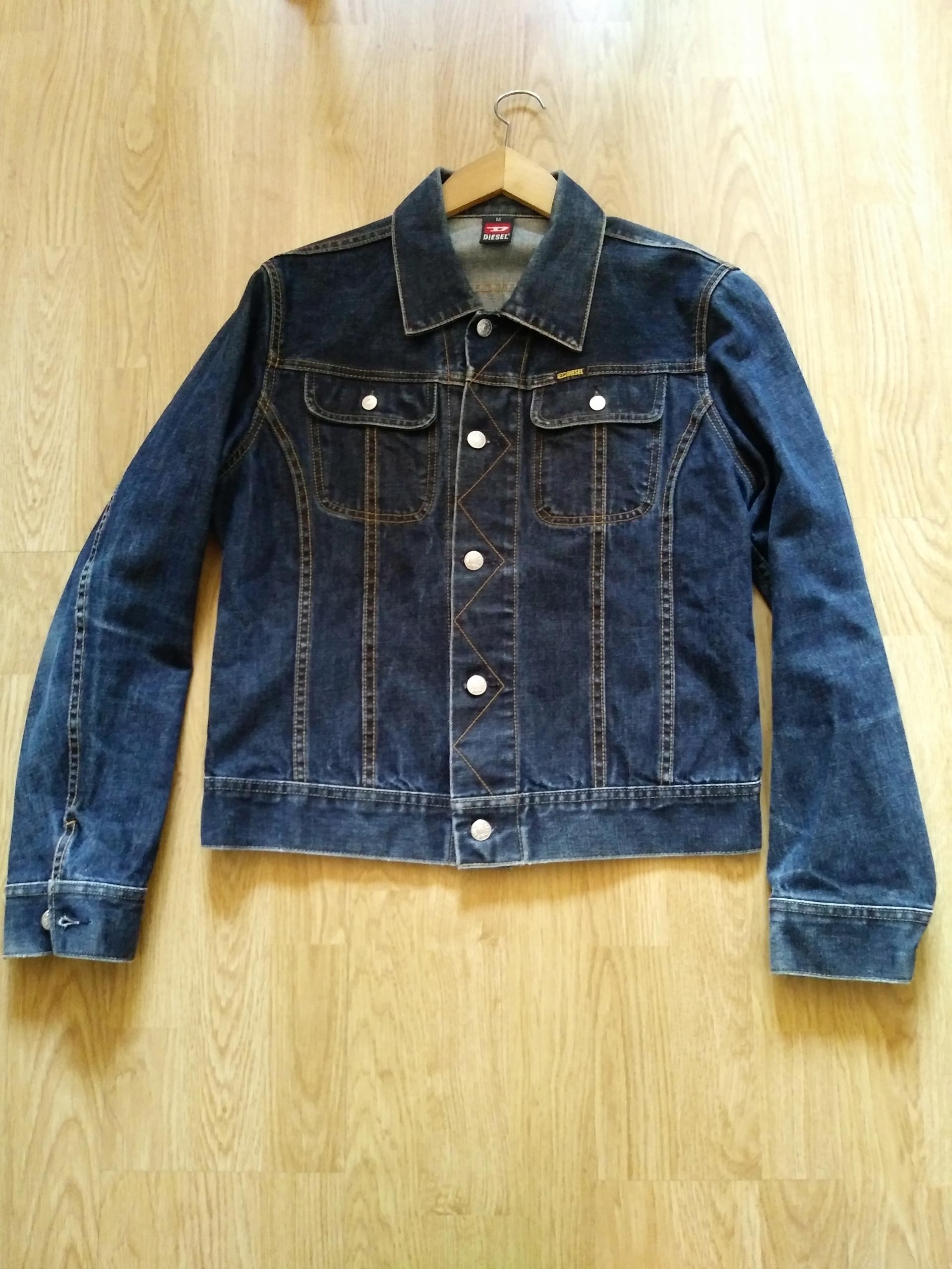 c1a49d36 Kurtka jeansowa męska Diesel, rozmiar M - 7621663527 - oficjalne ...