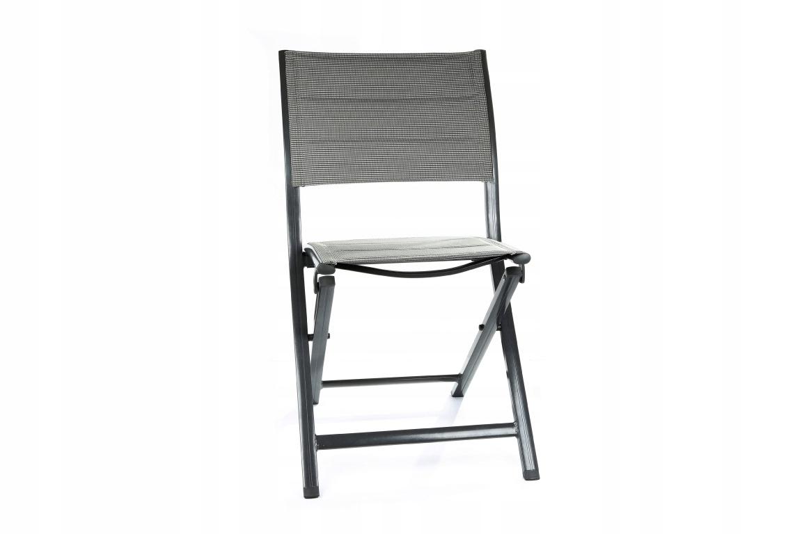Krzesełko Ogrodowe Składane Krzesło Balkonowe 7466219551