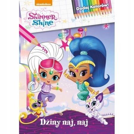 Shimmer And Shine Dżiny Naj Naj Kolorowanka 7416144402