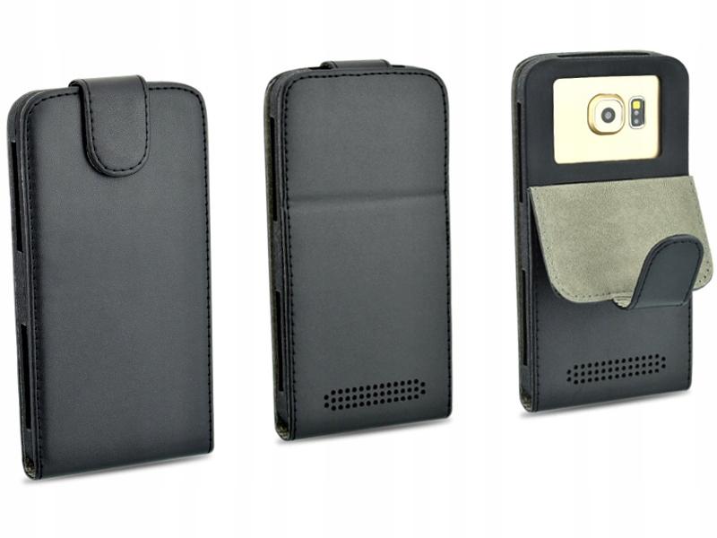 Etui czarne do telefonu Huawei P8