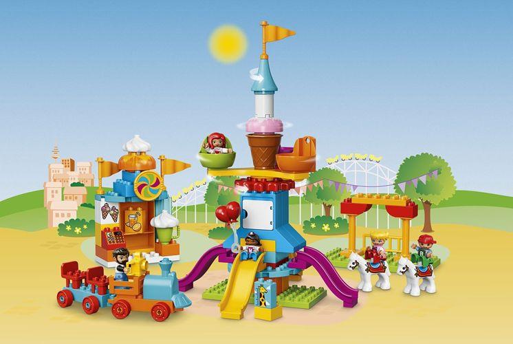 Klocki Lego Duplo 10840 Duże Wesołe Miasteczko 7338605252