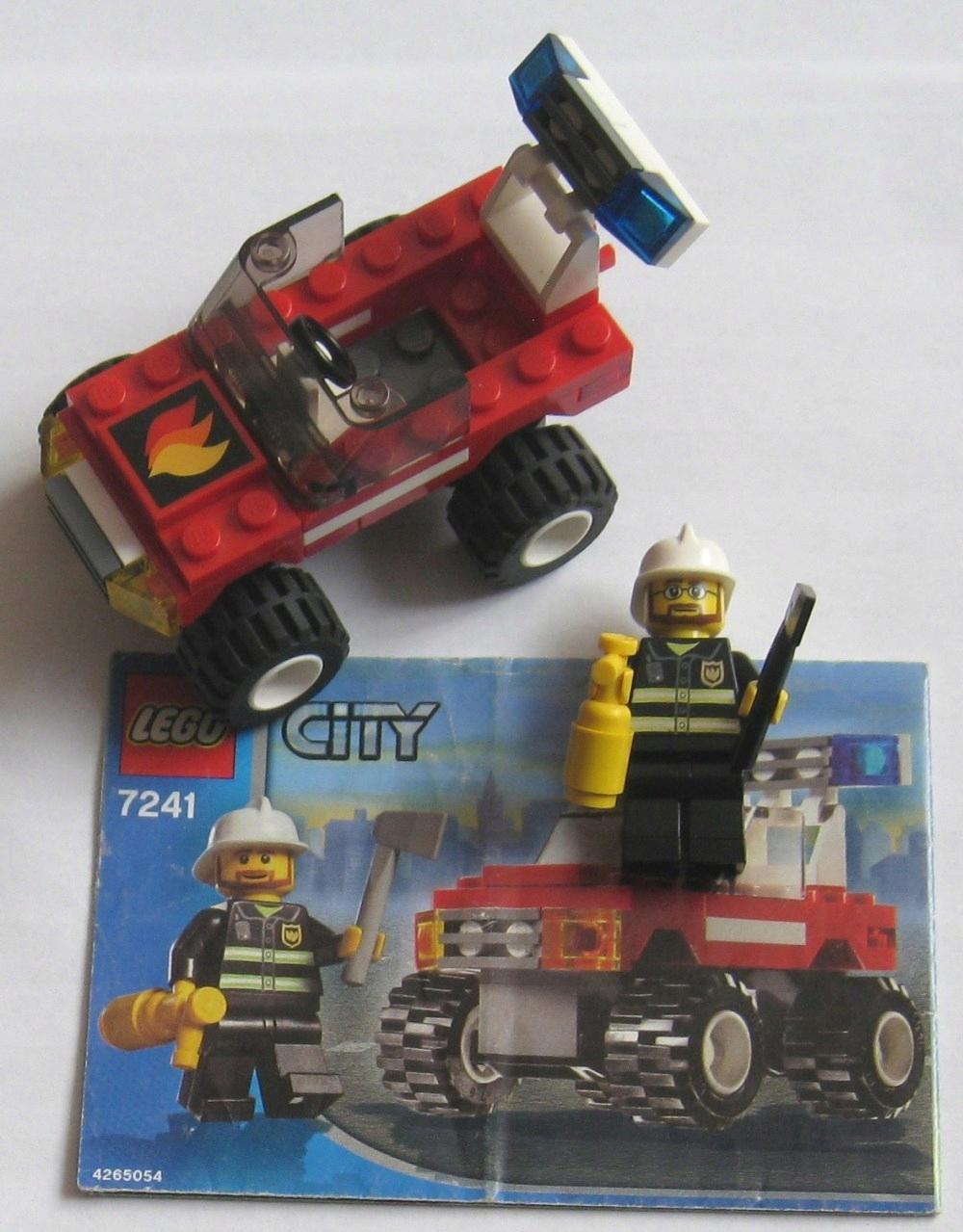 Lego City Wóz Straży Pożarnej 7241 Instrukcja 7572245712