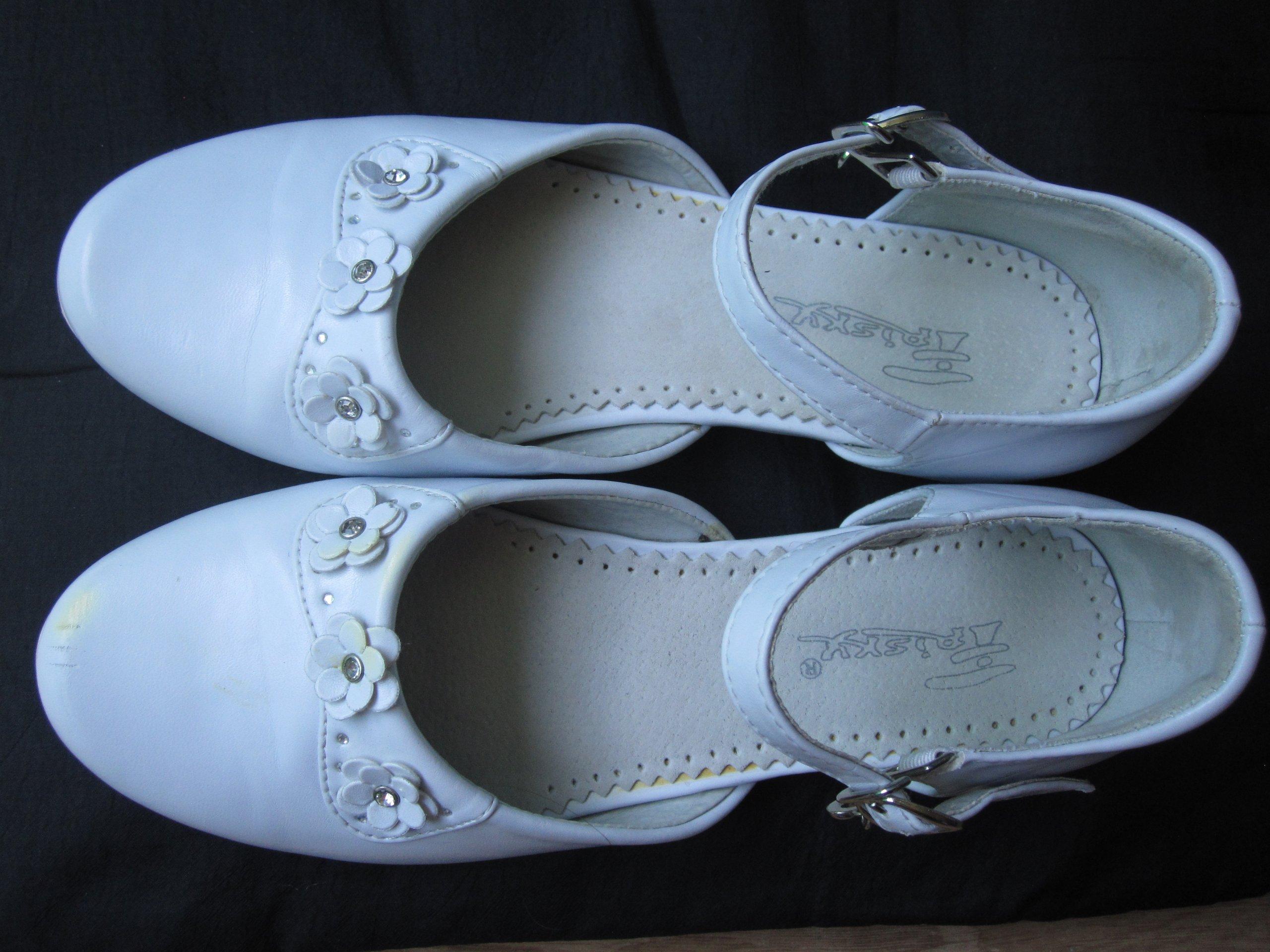 1aaba24697 Buty dziewczęce białe - rozmiar 35 - 7531790419 - oficjalne archiwum ...
