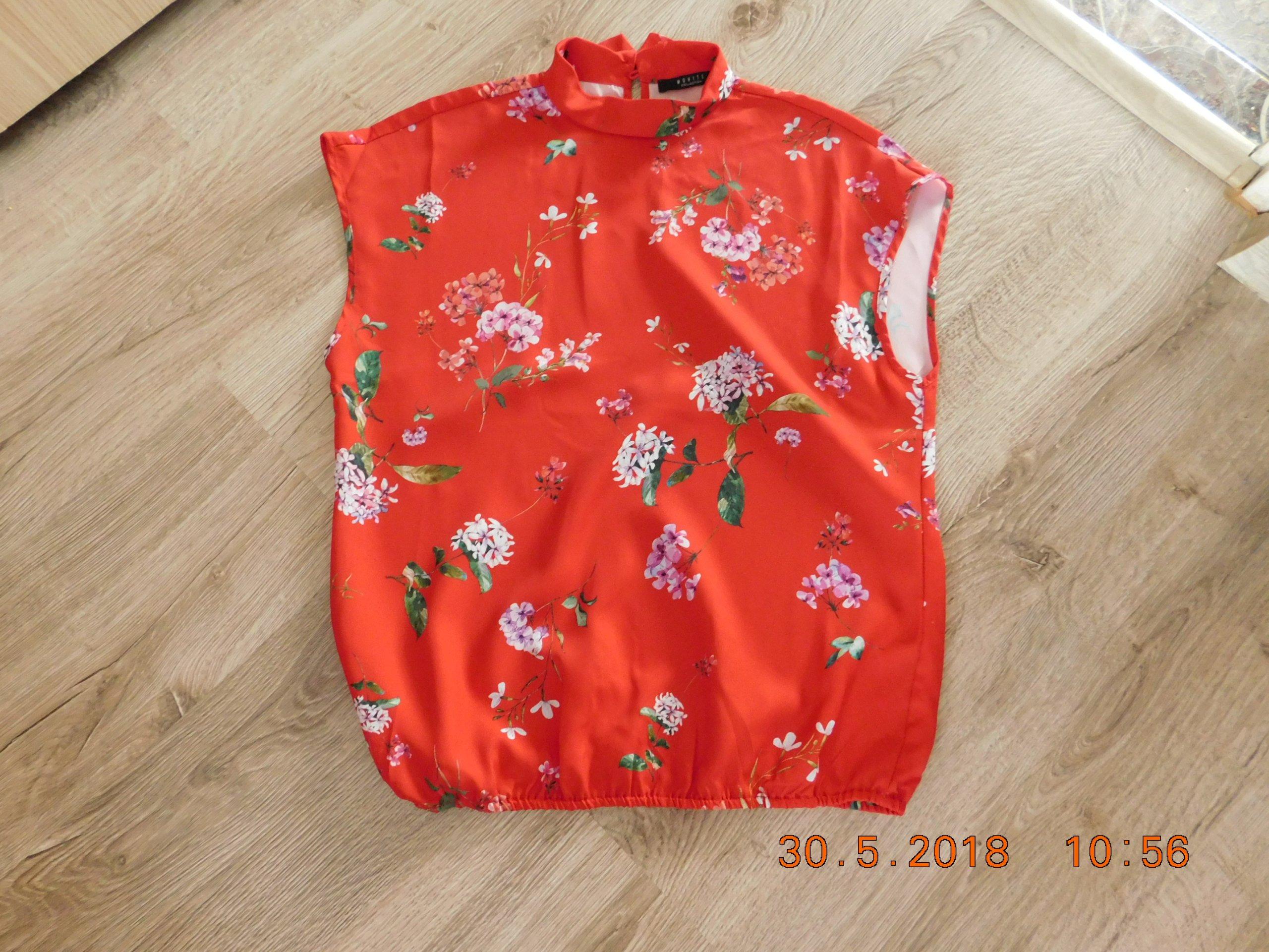 7f7c3cac3f bluzka MOHITO czerwona 36 NOWA - 7375482266 - oficjalne archiwum allegro