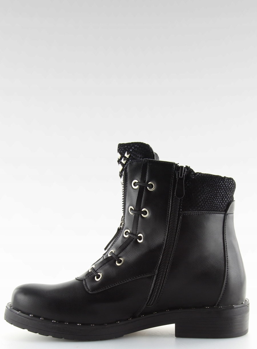 d4f86f5a769e0 Botki militarne czarne BLACK 38 super buty wygodne - 7225471104 ...