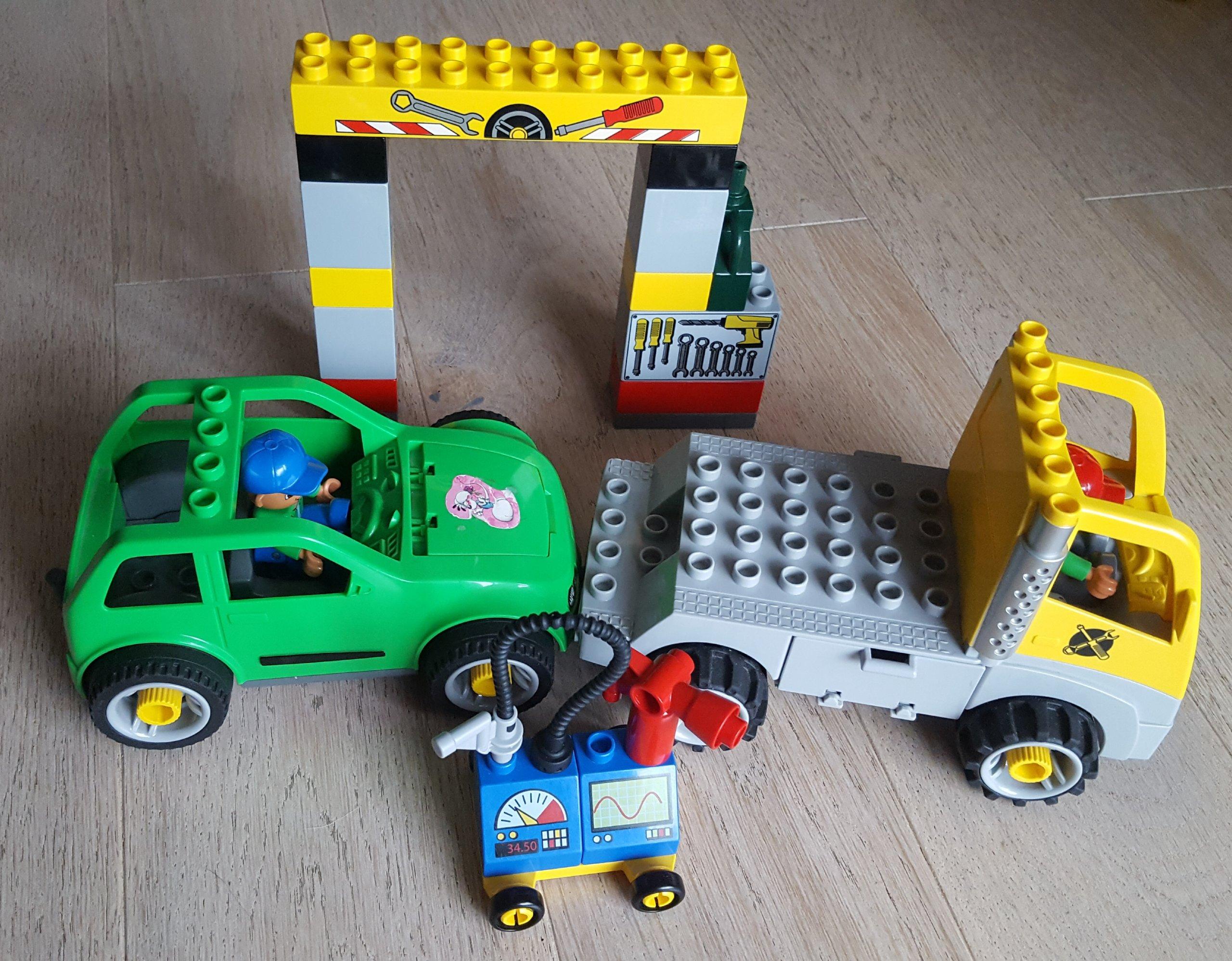 Lego Duplo Warsztat Samochodowy Zestaw 5641 7169383196 Oficjalne