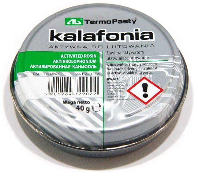 Kalafonia Aktywna do Lutowania AG TermoPasty 40g