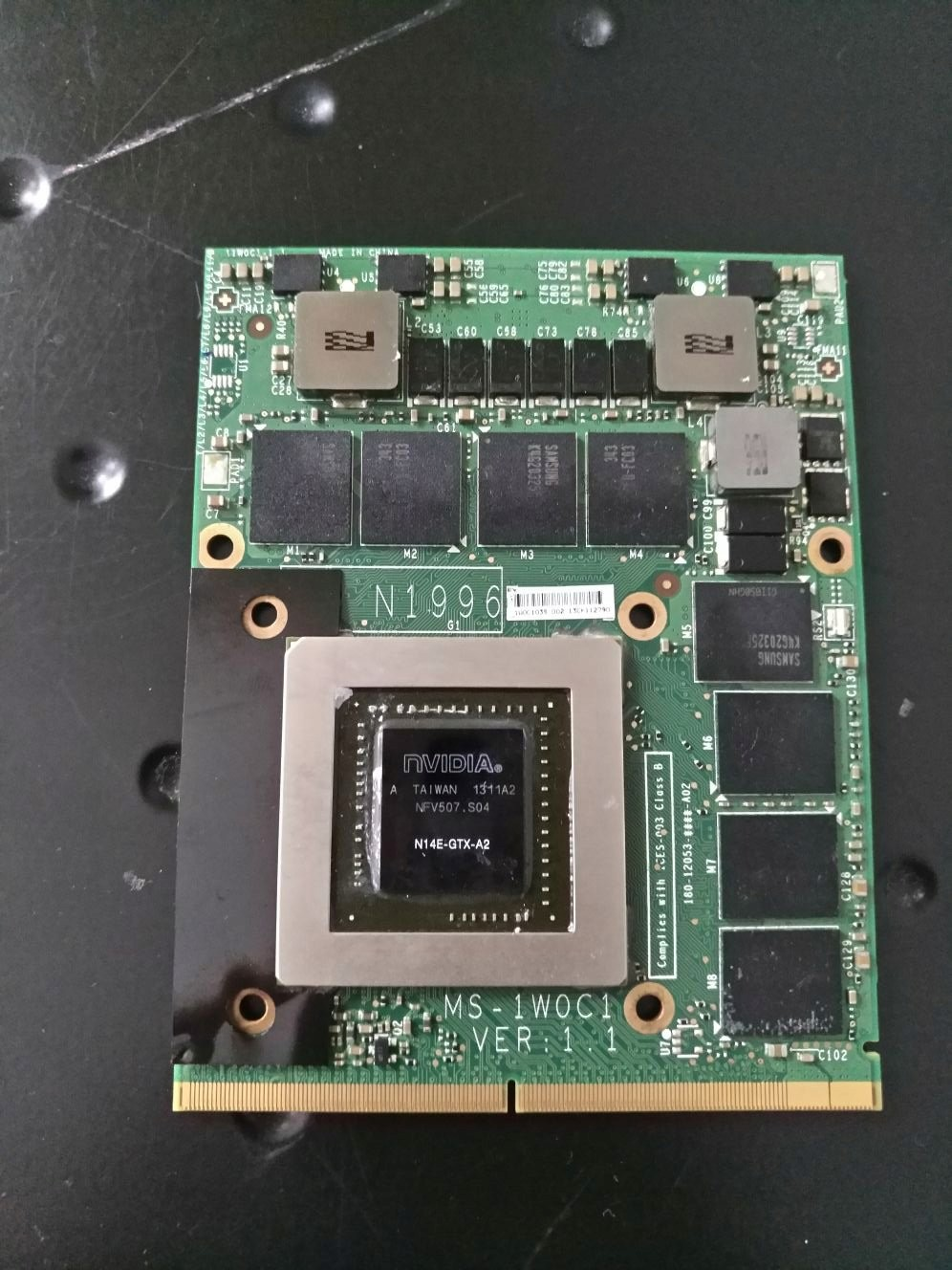 Karta Graficzna Do Laptopa Nvidia Gtx 780m 4gb 7409884909