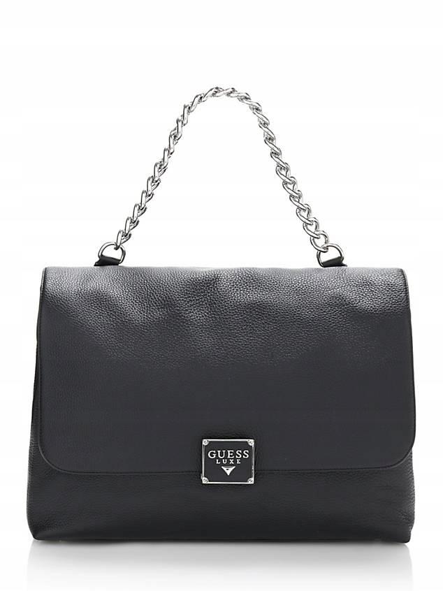 c7282689ac6f7 guess luxe vicky leather skórzana torebka - 7616885392 - oficjalne ...
