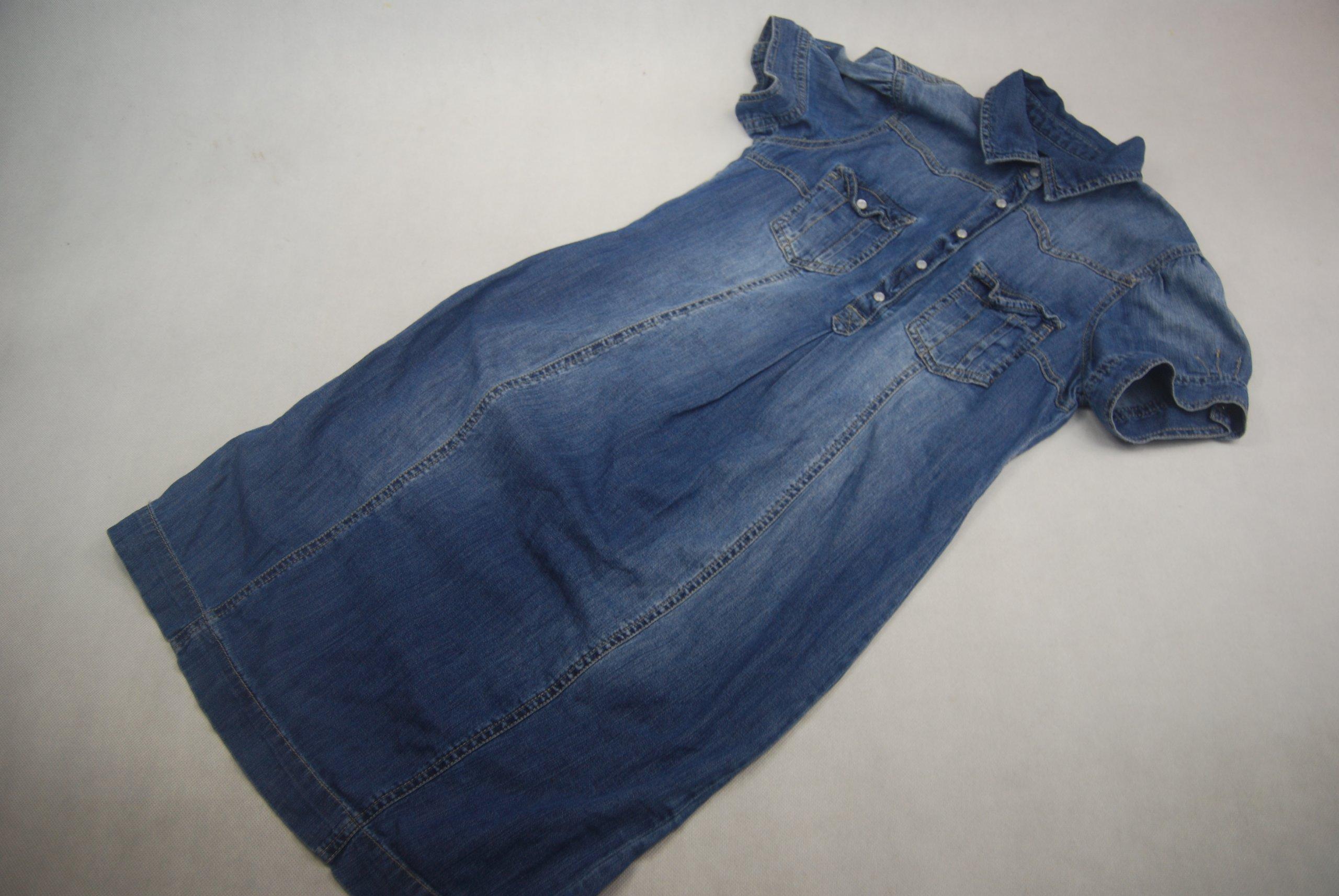 b8537489f1 H M Mama sukienka jeansowa ciążowa S - 7423621926 - oficjalne ...