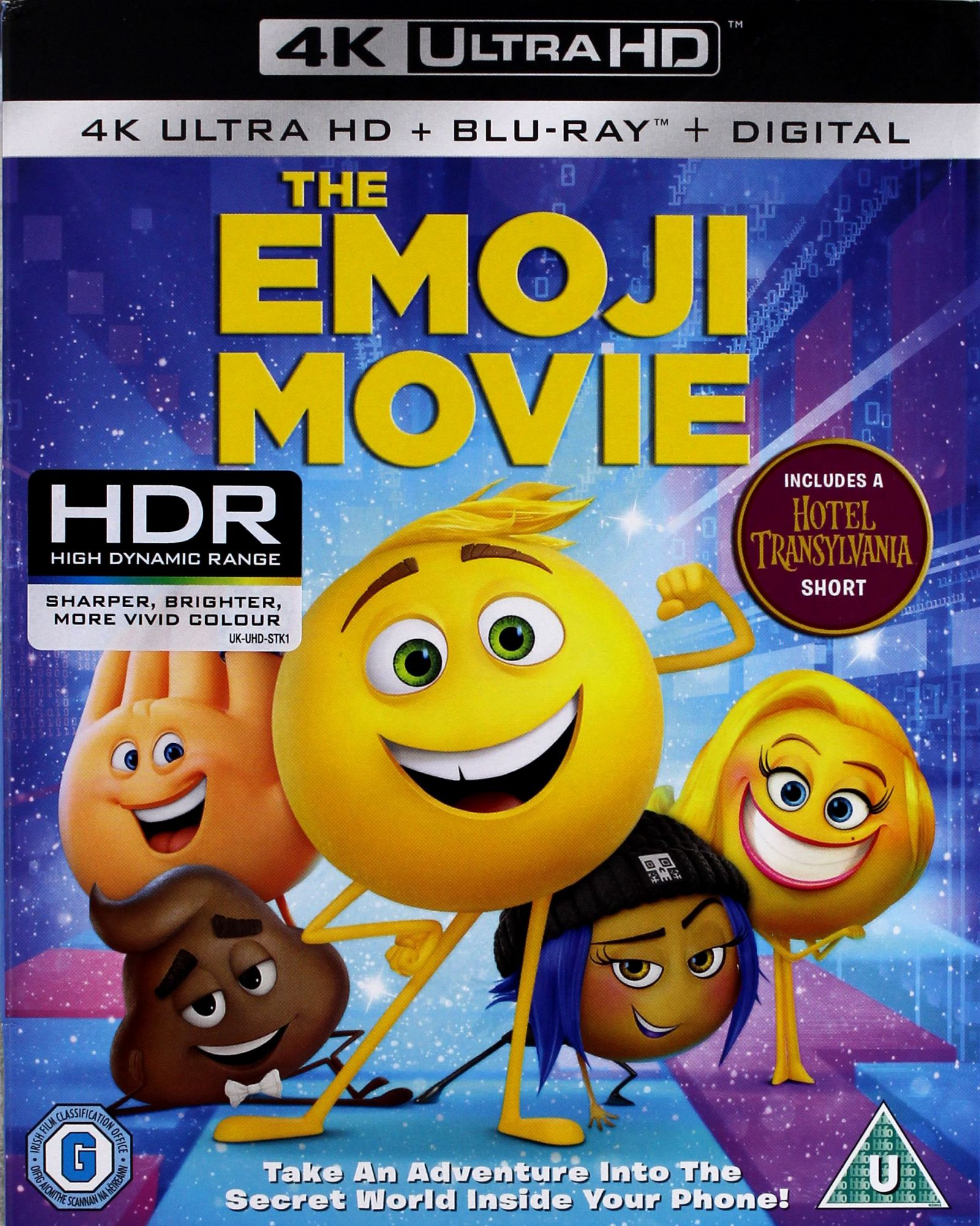 EMOTKI. FILM (BLU-RAY 4K)+(BLU-RAY)