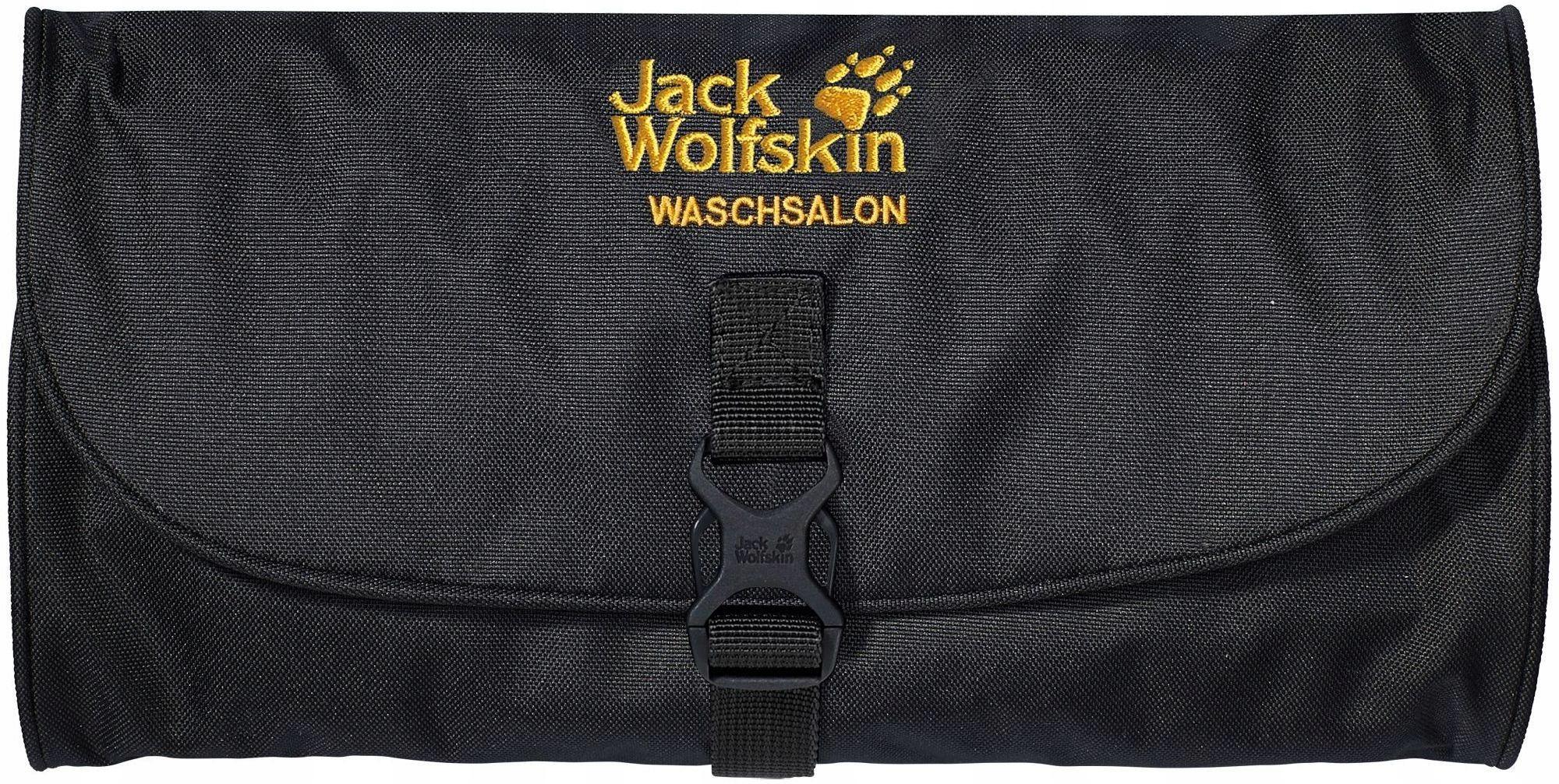 Jack Wolfskin Kosmetyczka Waschsalon Black