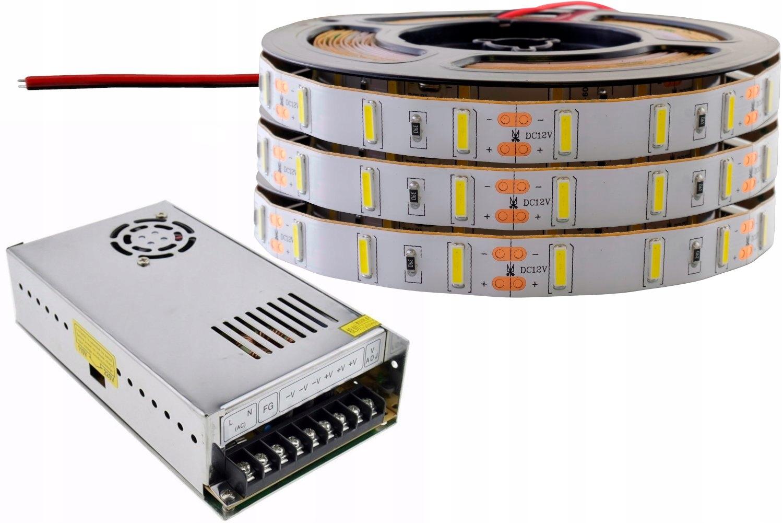 5f838acae ZESTAW taśma LED 7020 Samsung PREMIUM biała 15m - 7464102440 ...
