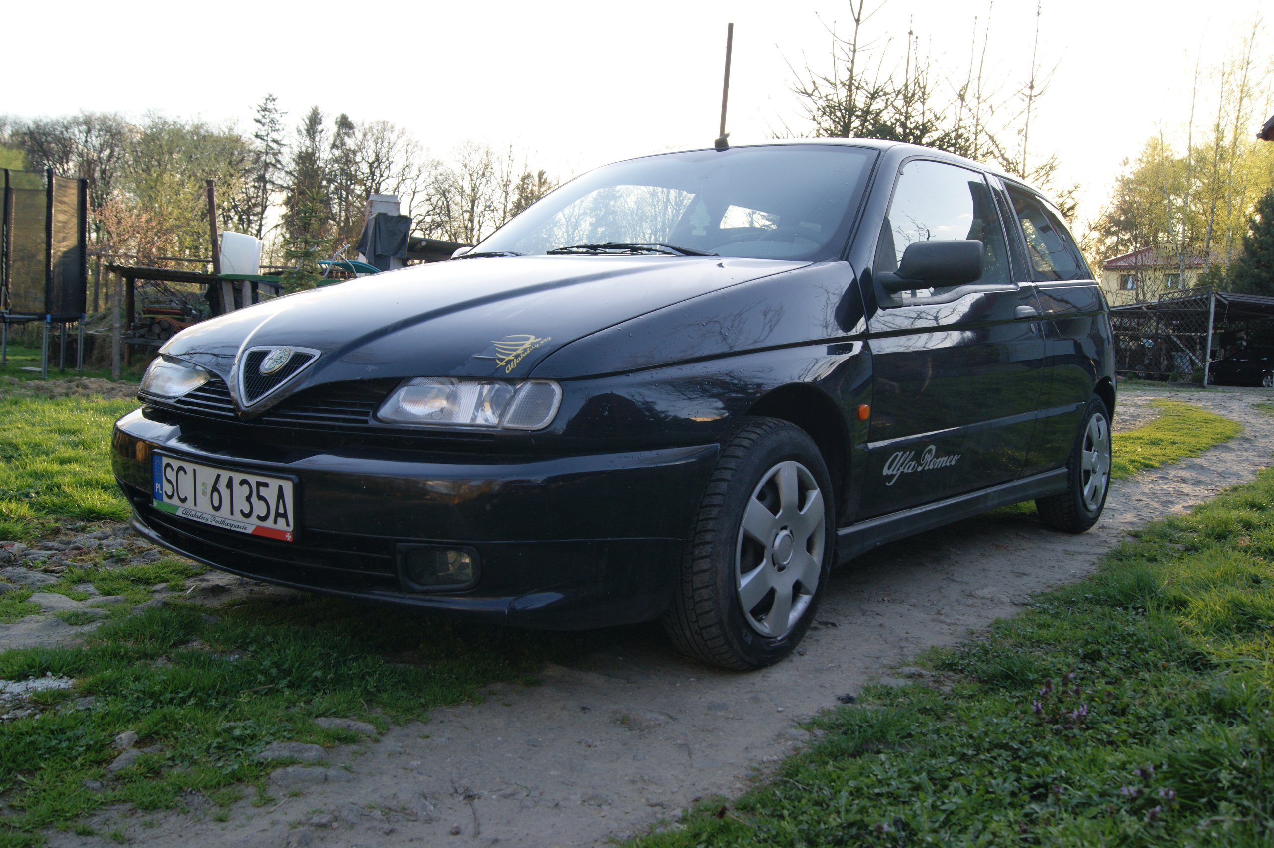 Alfa Romeo 145 1 6 Boxer LPG 1996r oficjalne