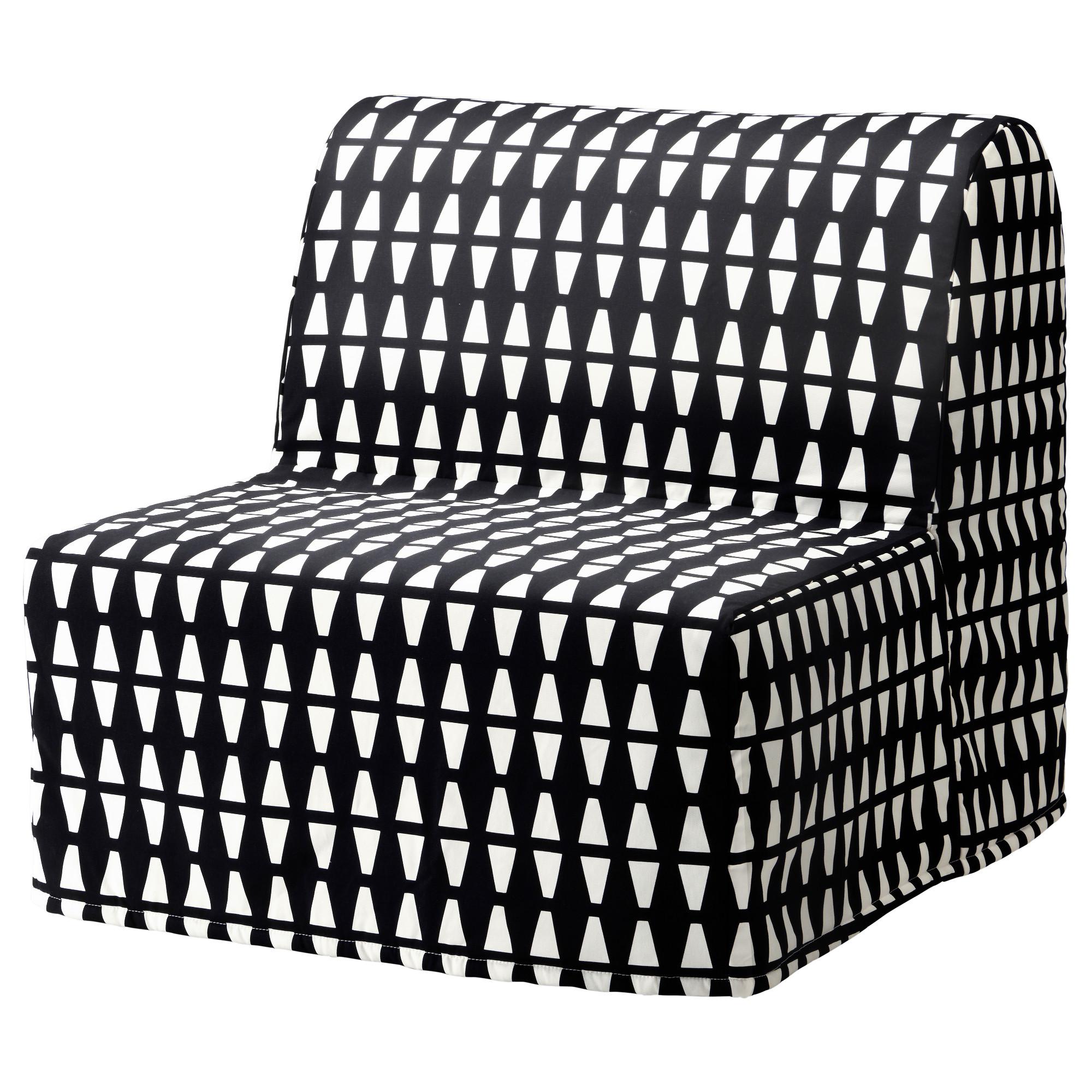 Ikea Lycksele Lovas Fotel Rozkładany łóżko Kanapa