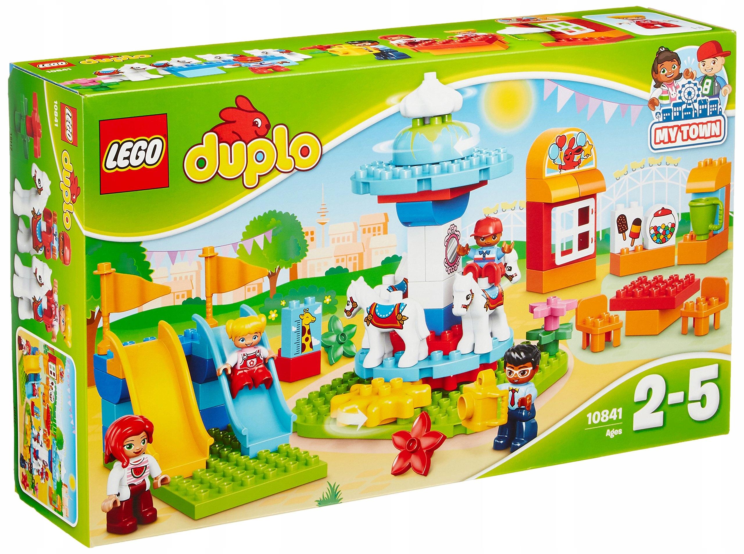 Lego Duplo 10841 Wesołe Miasteczko Klocki 7455415548 Oficjalne